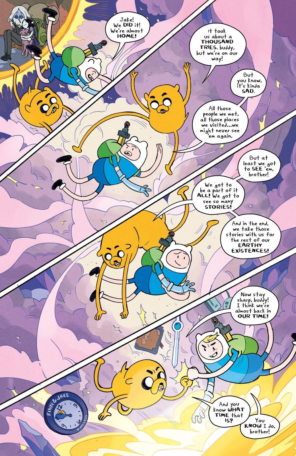 Read online Adventure Time: Beginning of the End comic -  Issue # _TPB - 94