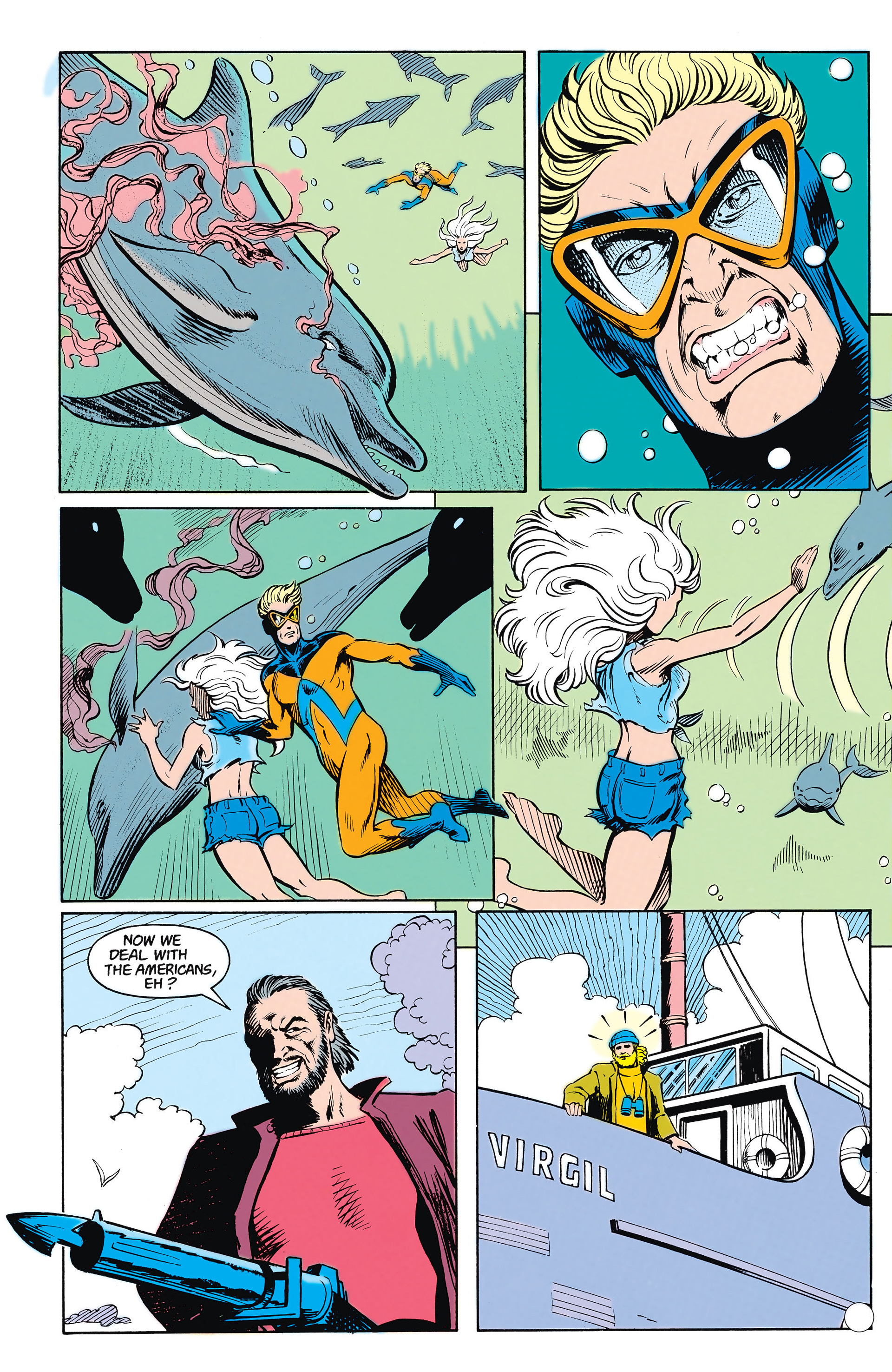 Read online Animal Man (1988) comic -  Issue #15 - 17