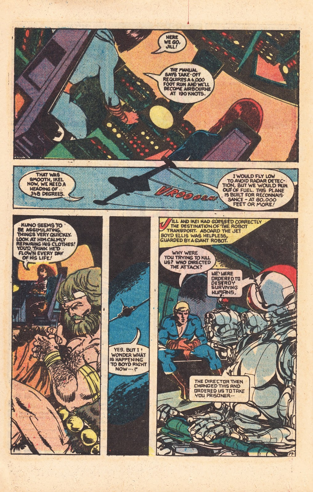 Read online Doomsday   1 (1975) comic -  Issue #8 - 23
