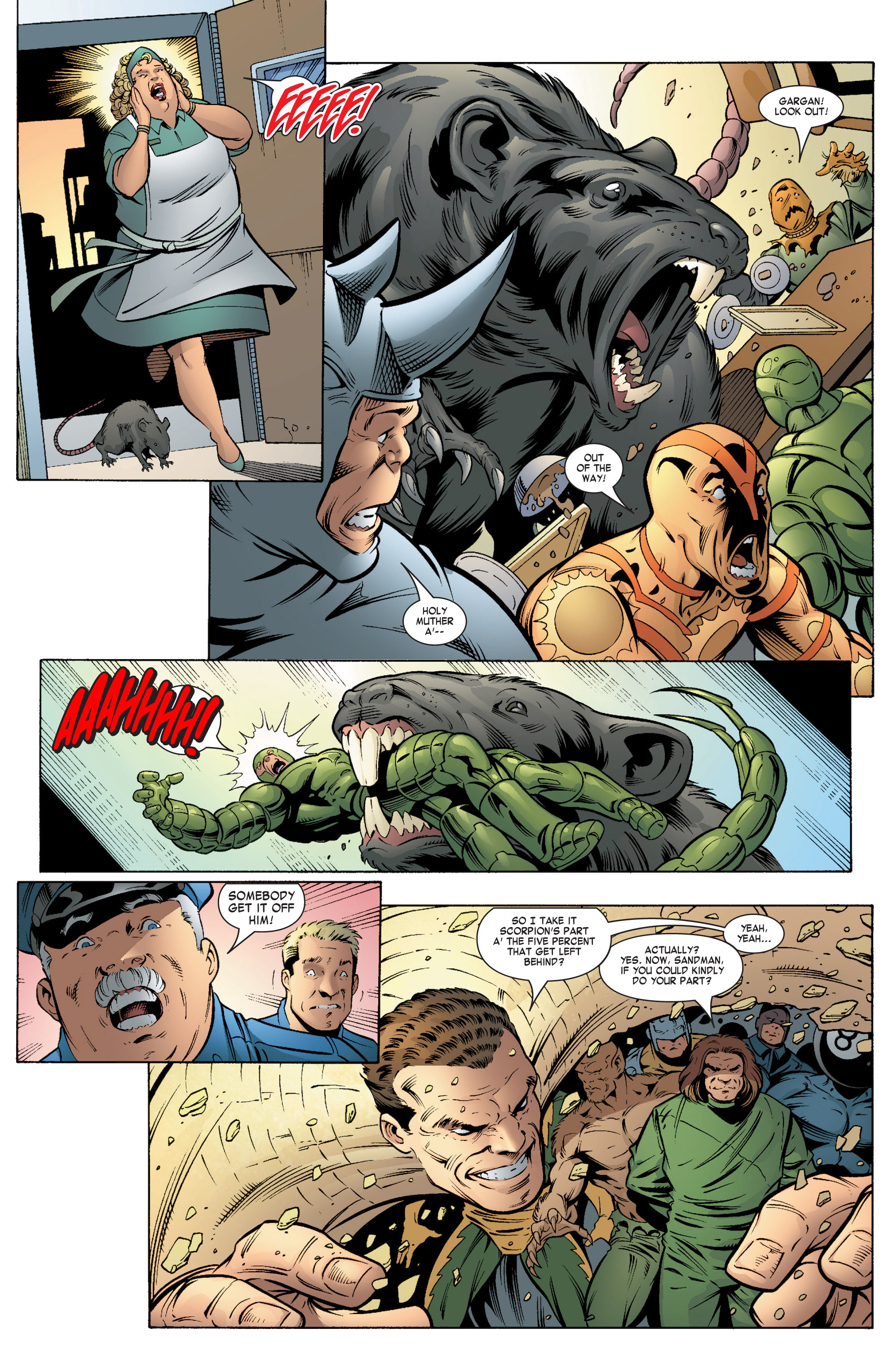 Read online She-Hulk (2004) comic -  Issue #5 - 16