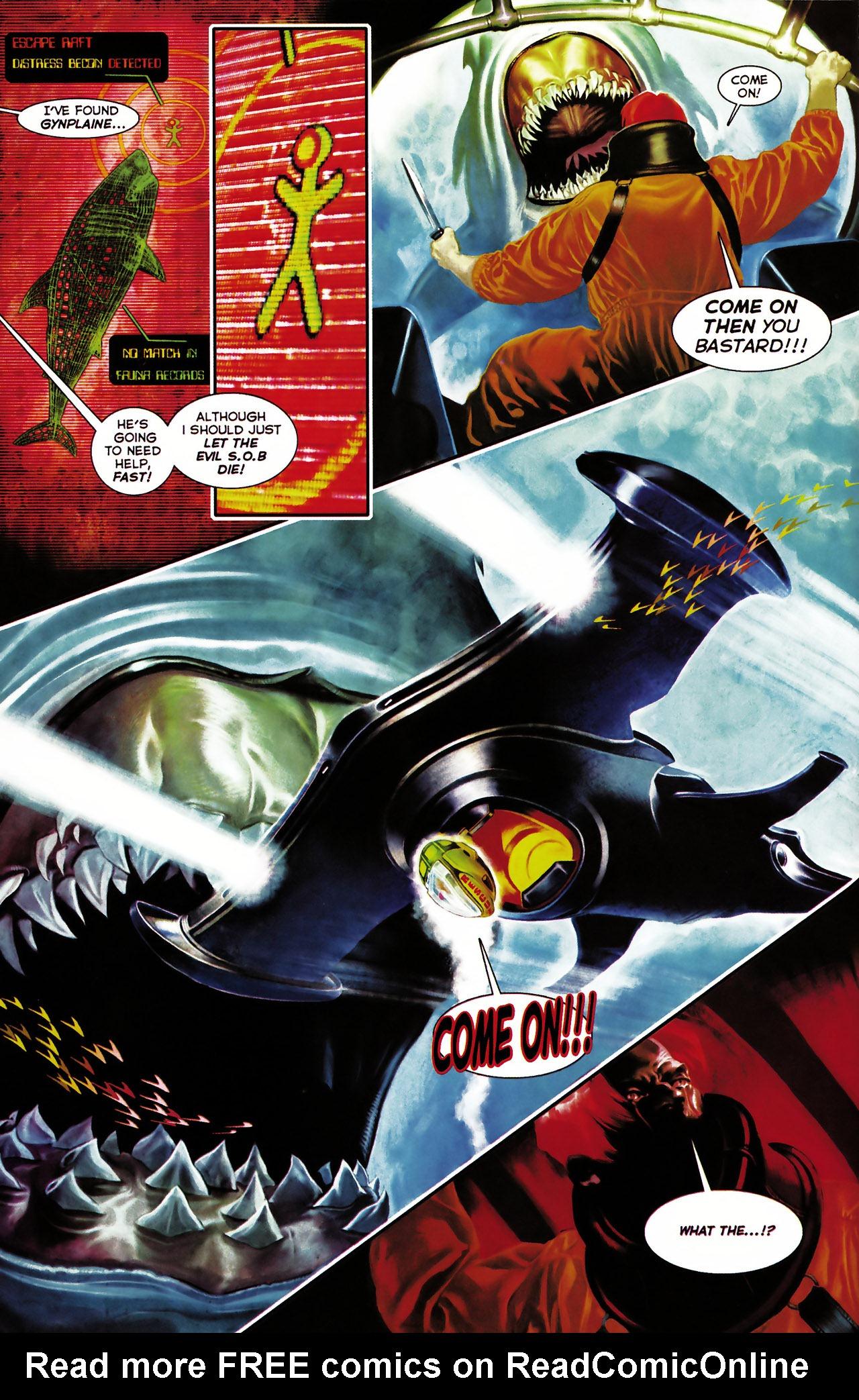 Read online Shark-Man comic -  Issue #1 - 6