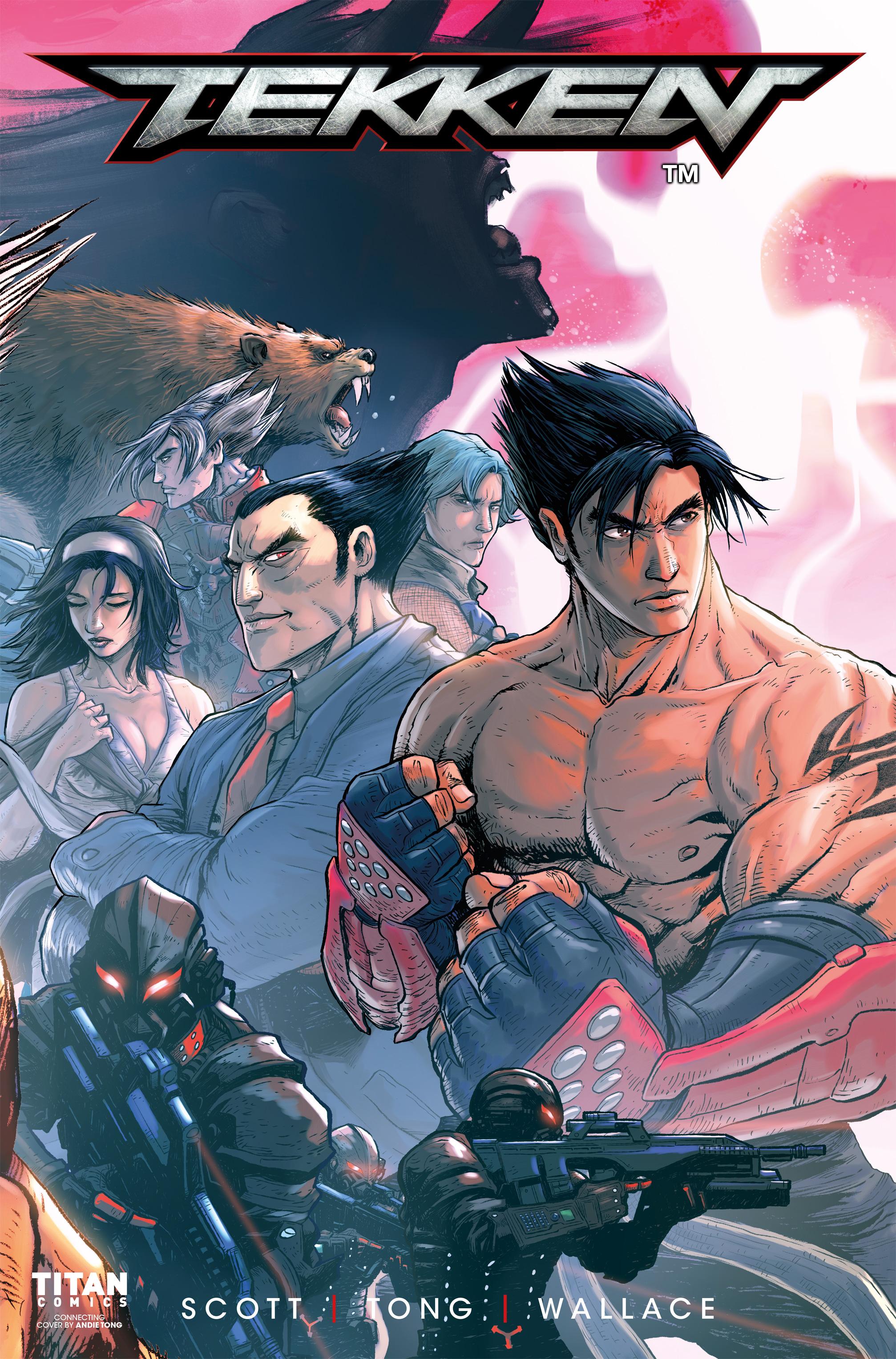 Read online Tekken comic -  Issue #2 - 4