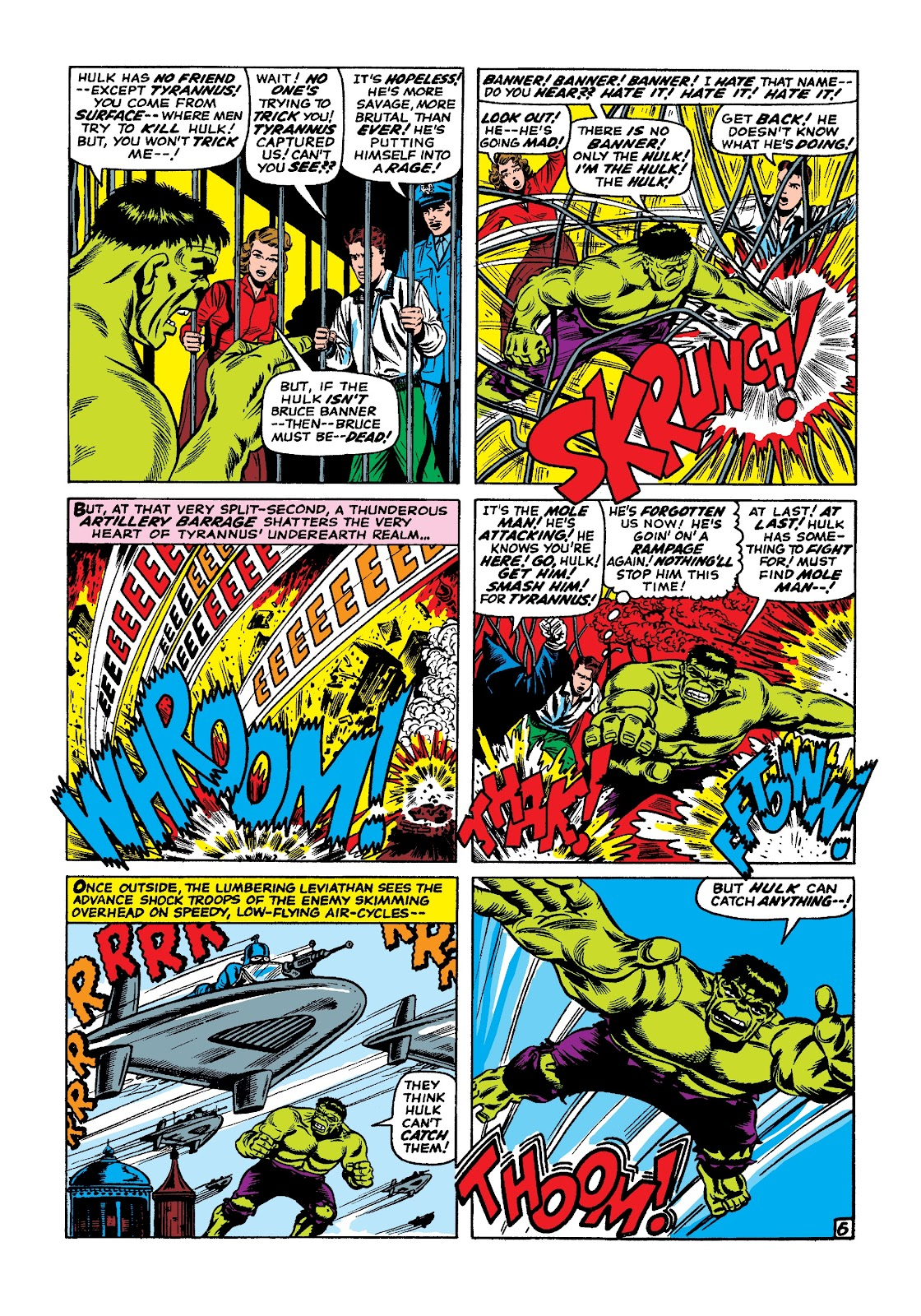 Read online Marvel Masterworks: The Incredible Hulk comic -  Issue # TPB 3 (Part 1) - 13