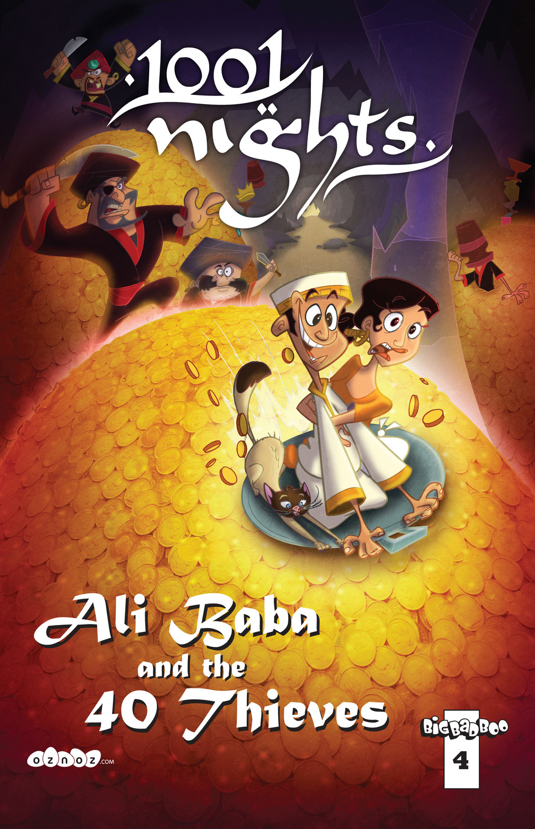 Read online 1001 Nights comic -  Issue #4 - 1