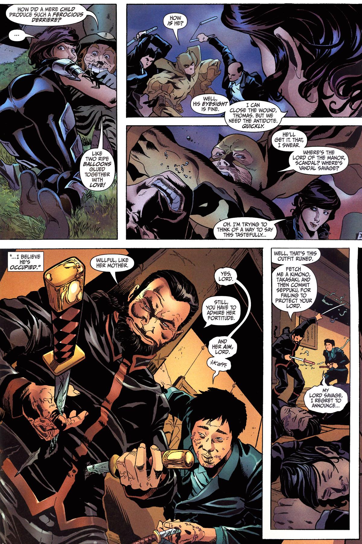 Read online Secret Six (2006) comic -  Issue #6 - 6