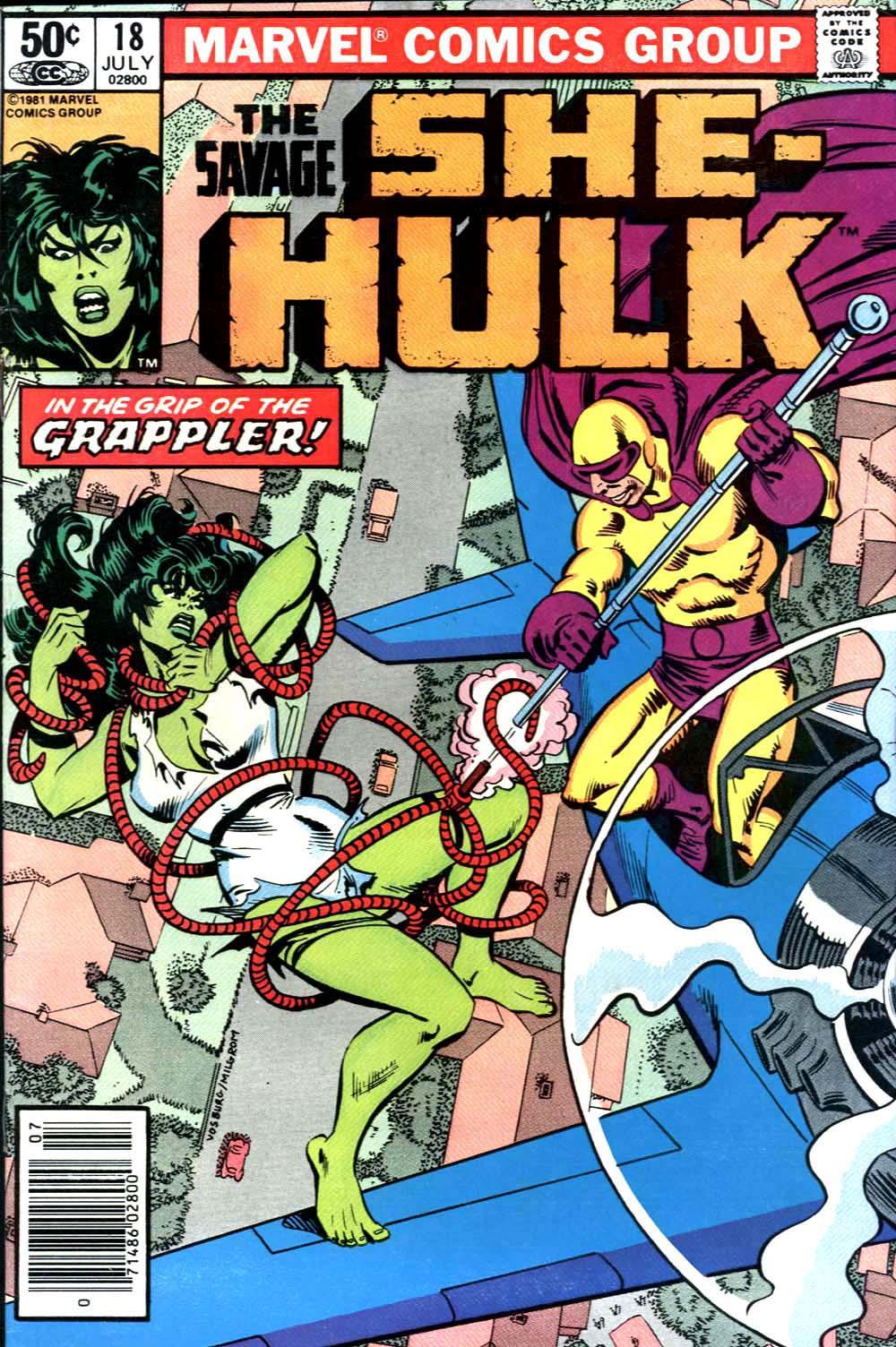 The Savage She-Hulk 18 Page 1