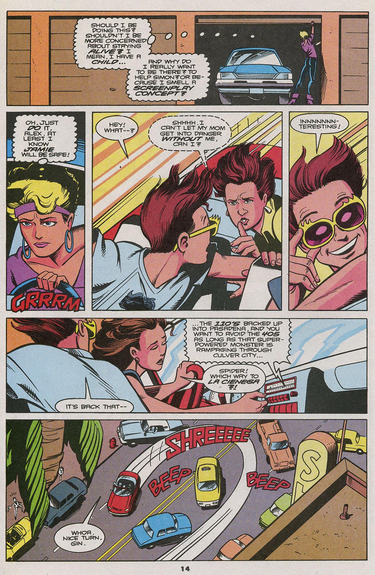 Read online Wonder Man (1991) comic -  Issue #11 - 10