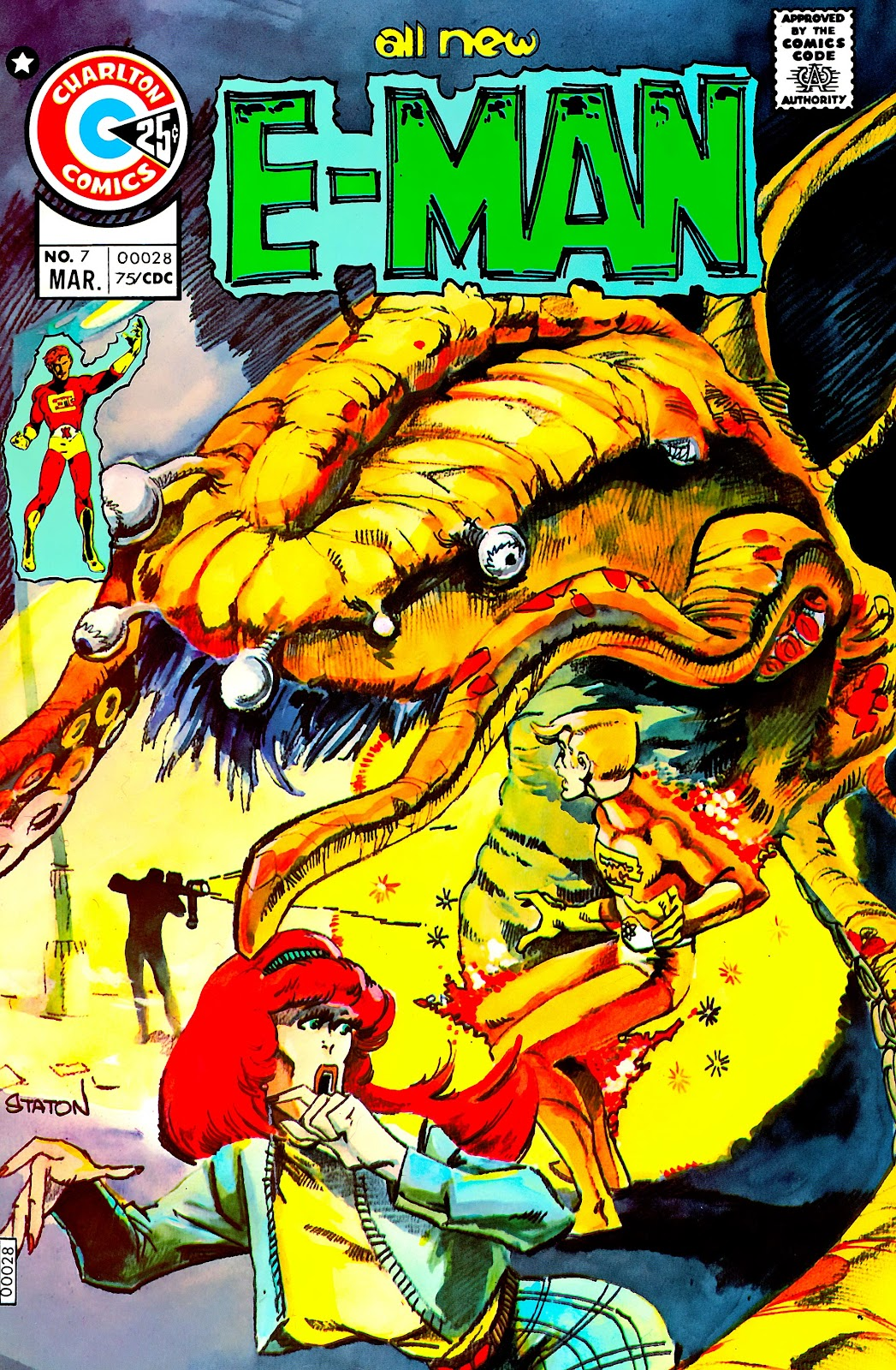 E-Man (1973) issue 7 - Page 1