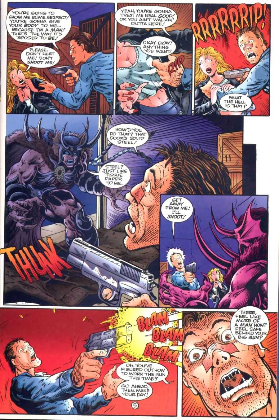 Read online Ultraverse Premiere comic -  Issue #1 - 25