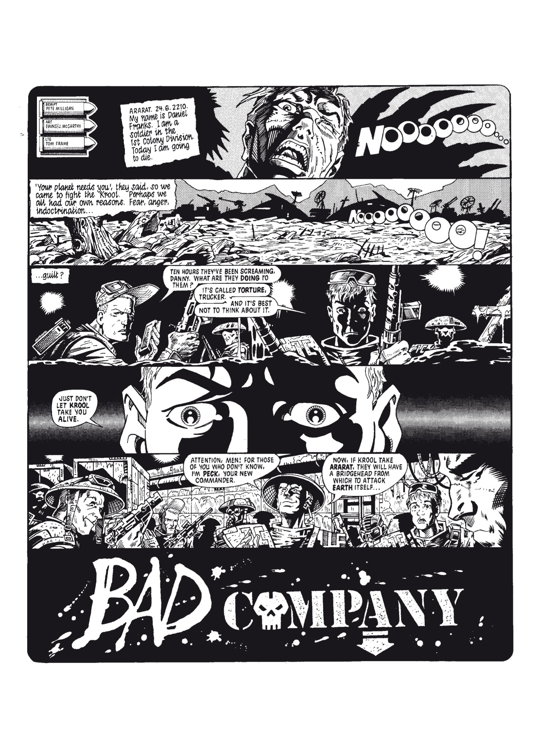 Read online The Complete Bad Company comic -  Issue # TPB - 5
