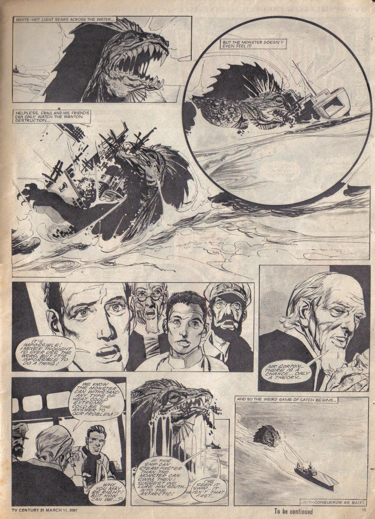 Read online TV Century 21 (TV 21) comic -  Issue #112 - 14