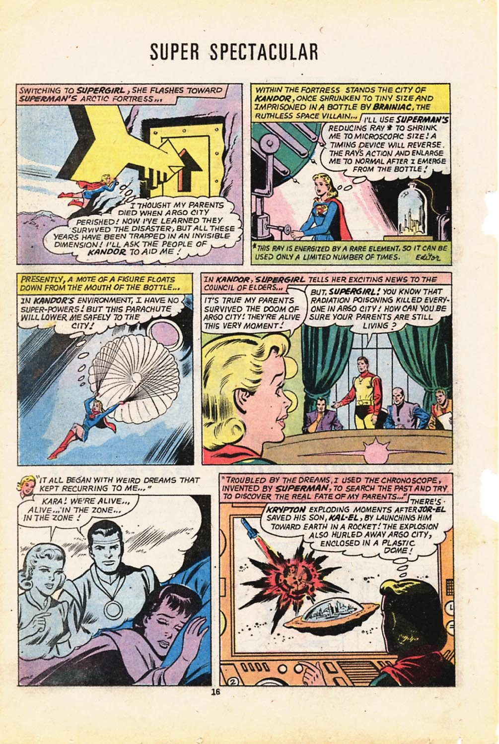 Read online Adventure Comics (1938) comic -  Issue #416 - 16