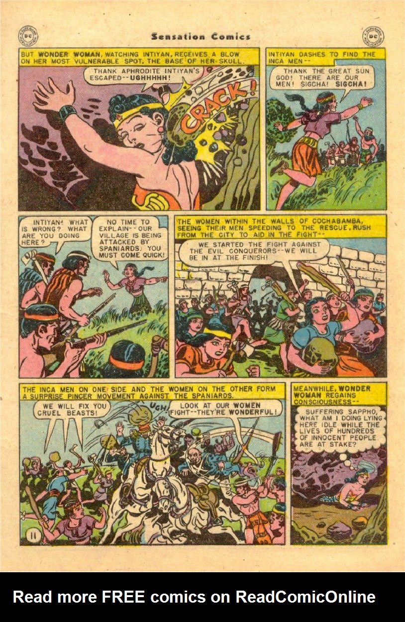 Read online Sensation (Mystery) Comics comic -  Issue #70 - 12