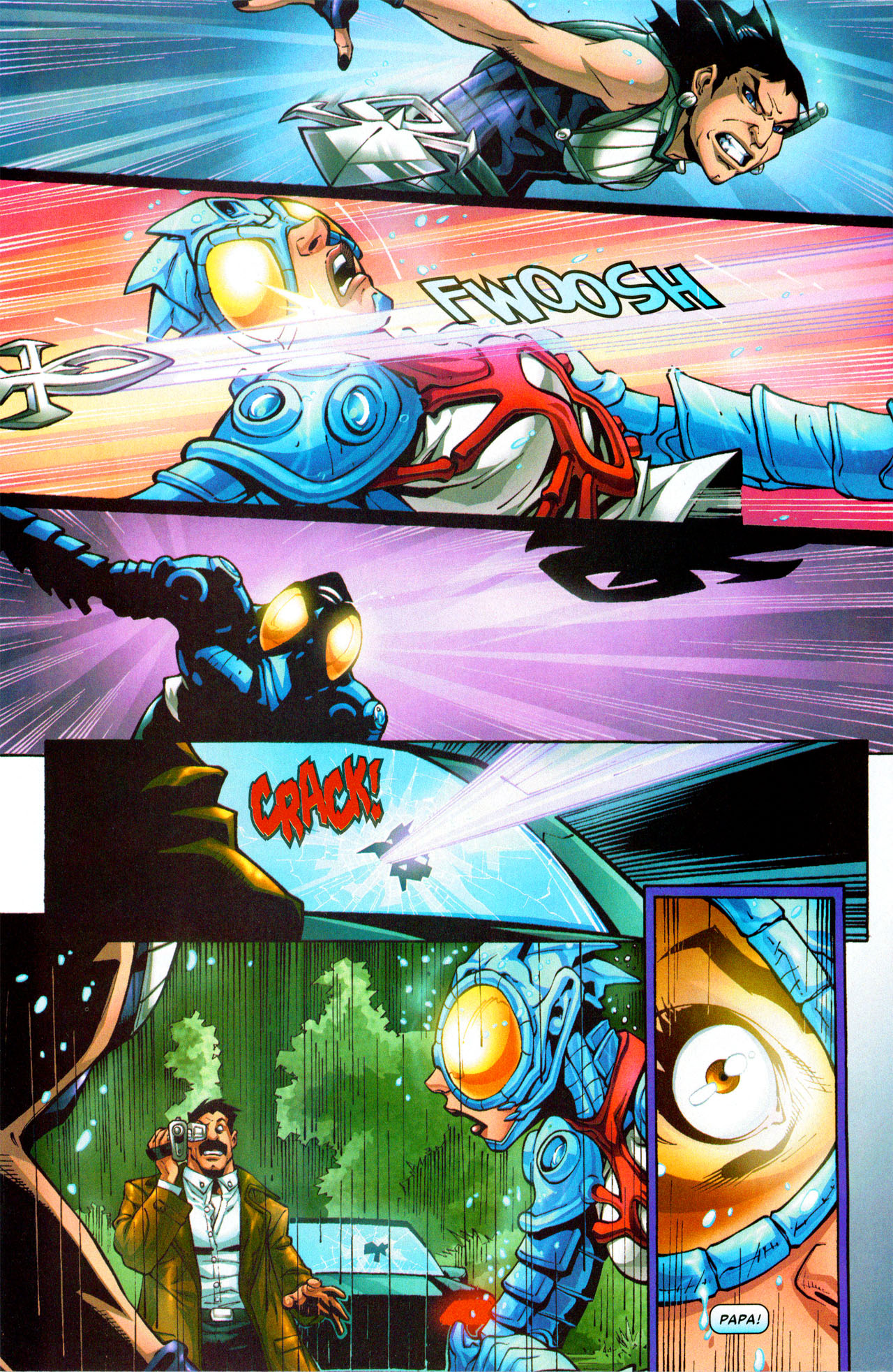 Read online Araña: Heart of the Spider comic -  Issue #3 - 20