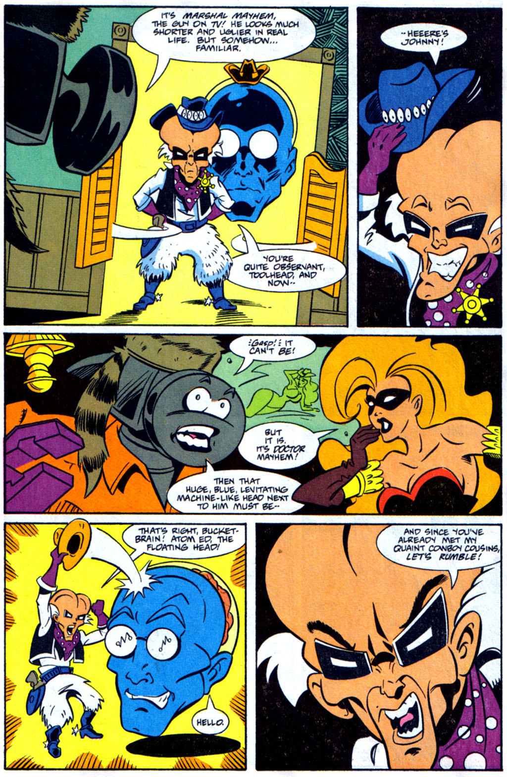 Read online Defenders of Dynatron City comic -  Issue #3 - 12