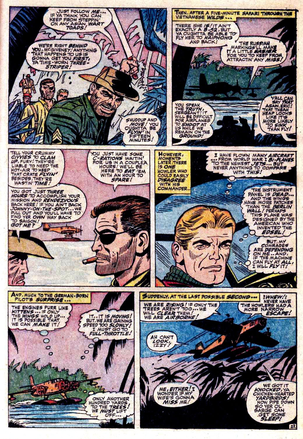 Read online Sgt. Fury comic -  Issue # _Special 3 - 25