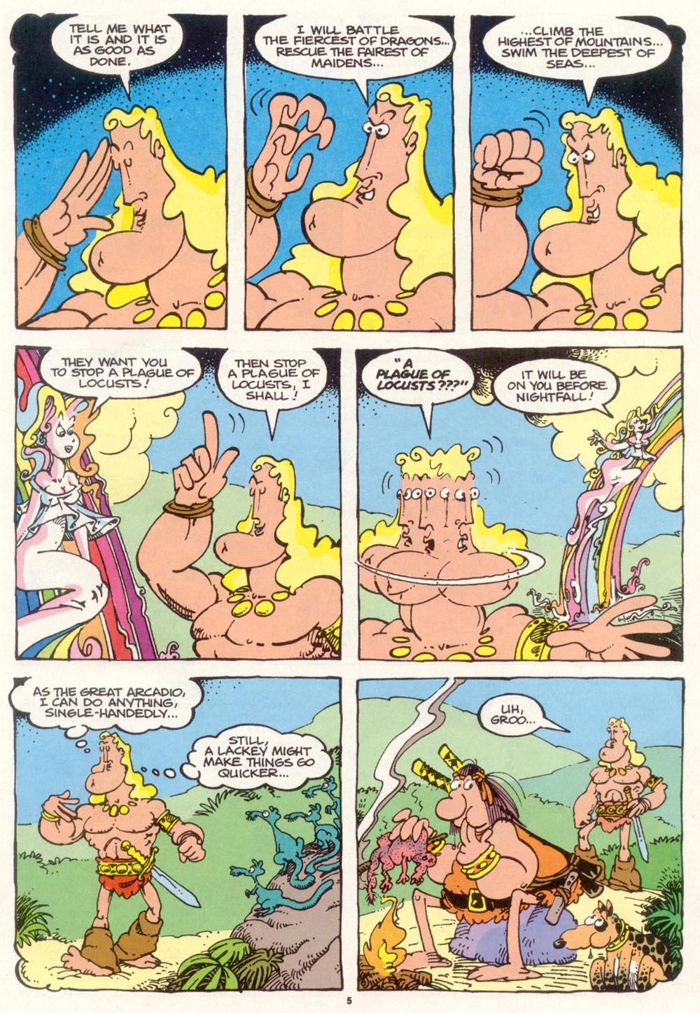 Read online Sergio Aragonés Groo the Wanderer comic -  Issue #97 - 6