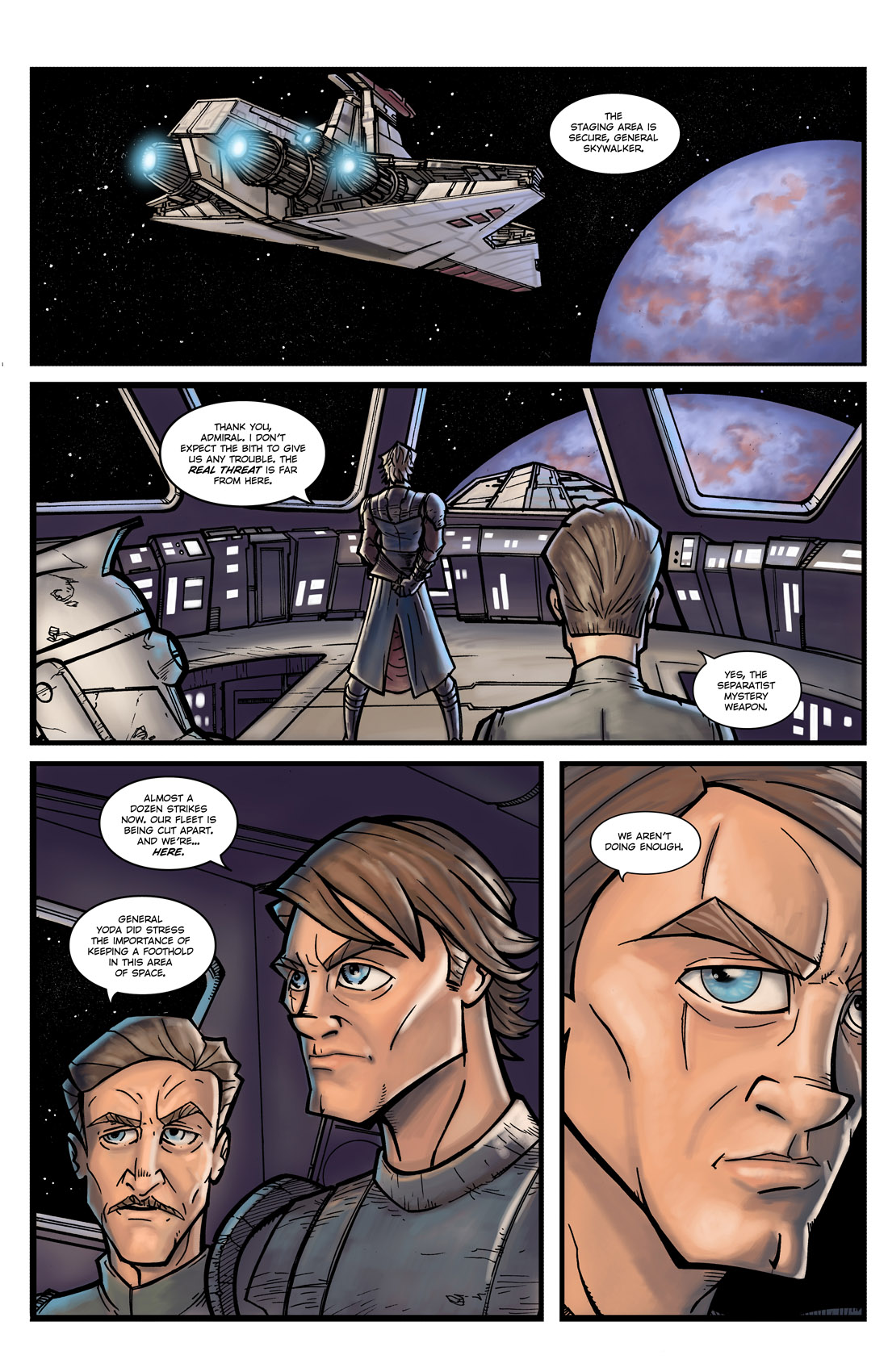 Read online Star Wars: Tales From The Clone Wars comic -  Issue # TPB - 12