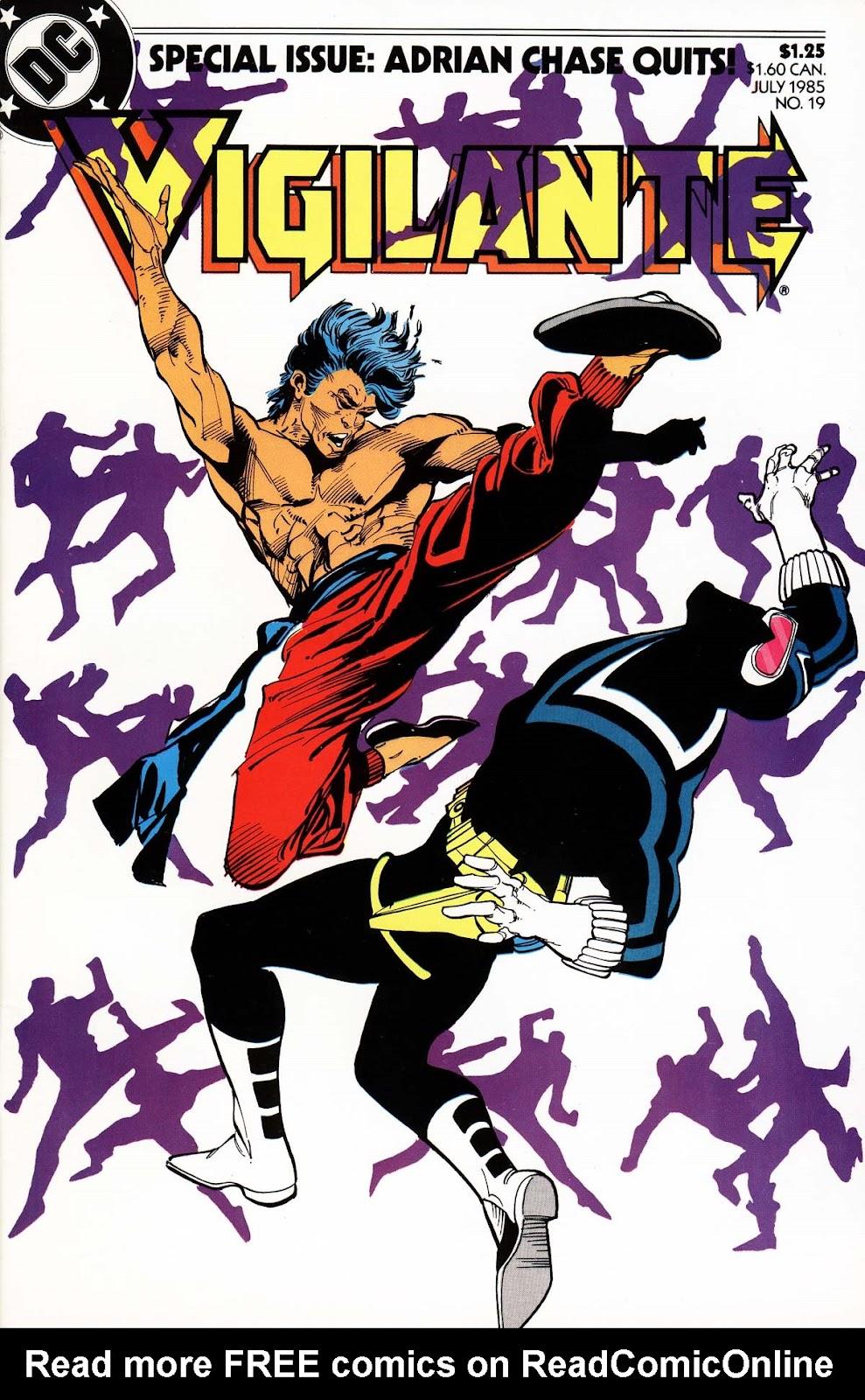 Vigilante (1983) issue 19 - Page 1