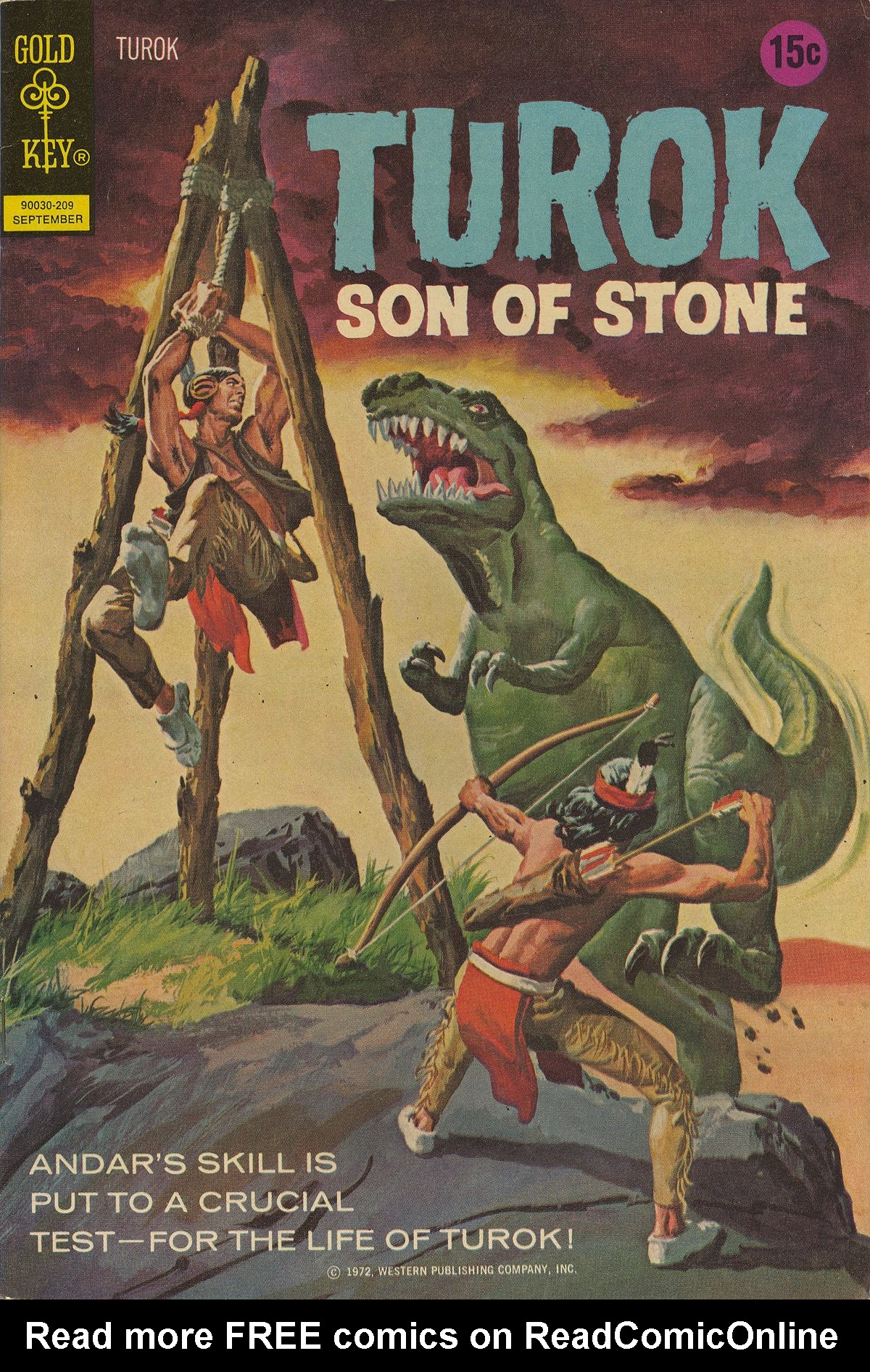 Read online Turok, Son of Stone comic -  Issue #80 - 1