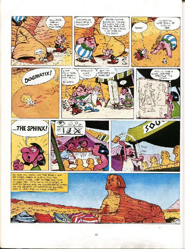 Read online Asterix comic -  Issue #6 - 19