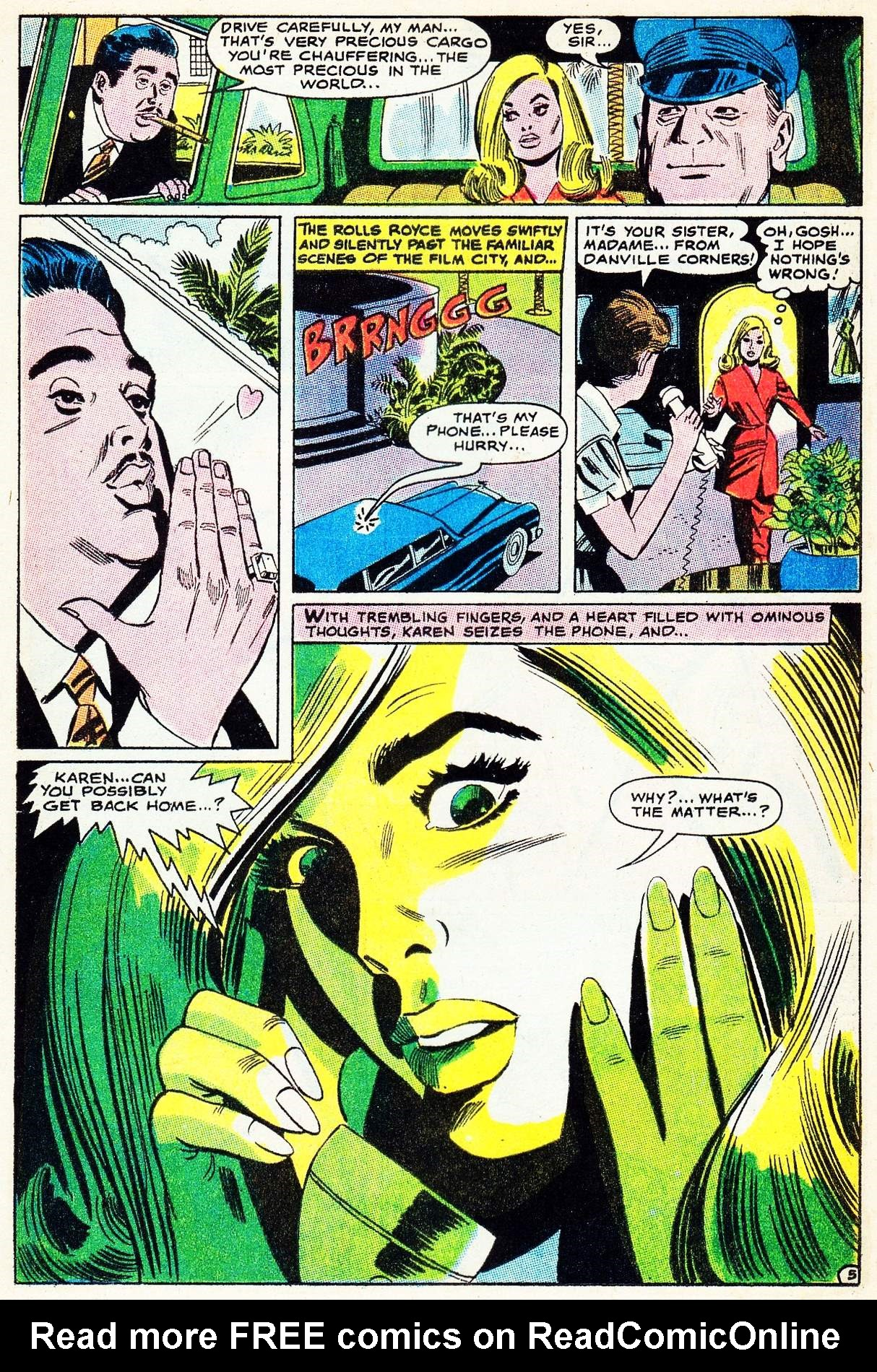 Read online Secret Hearts comic -  Issue #133 - 24