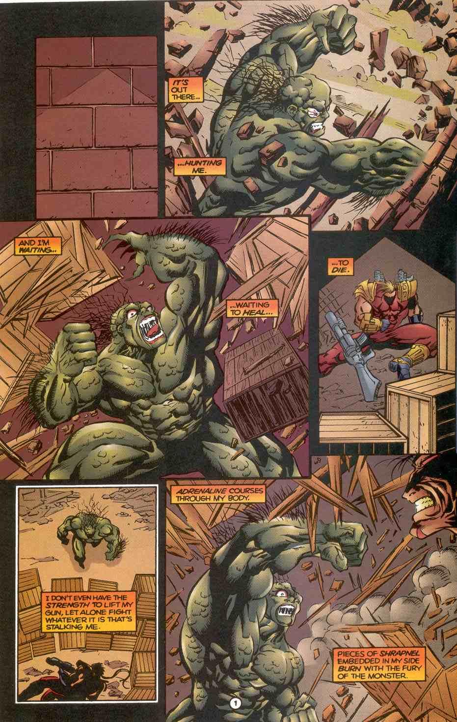 Read online Ultraverse Premiere comic -  Issue #3 - 15