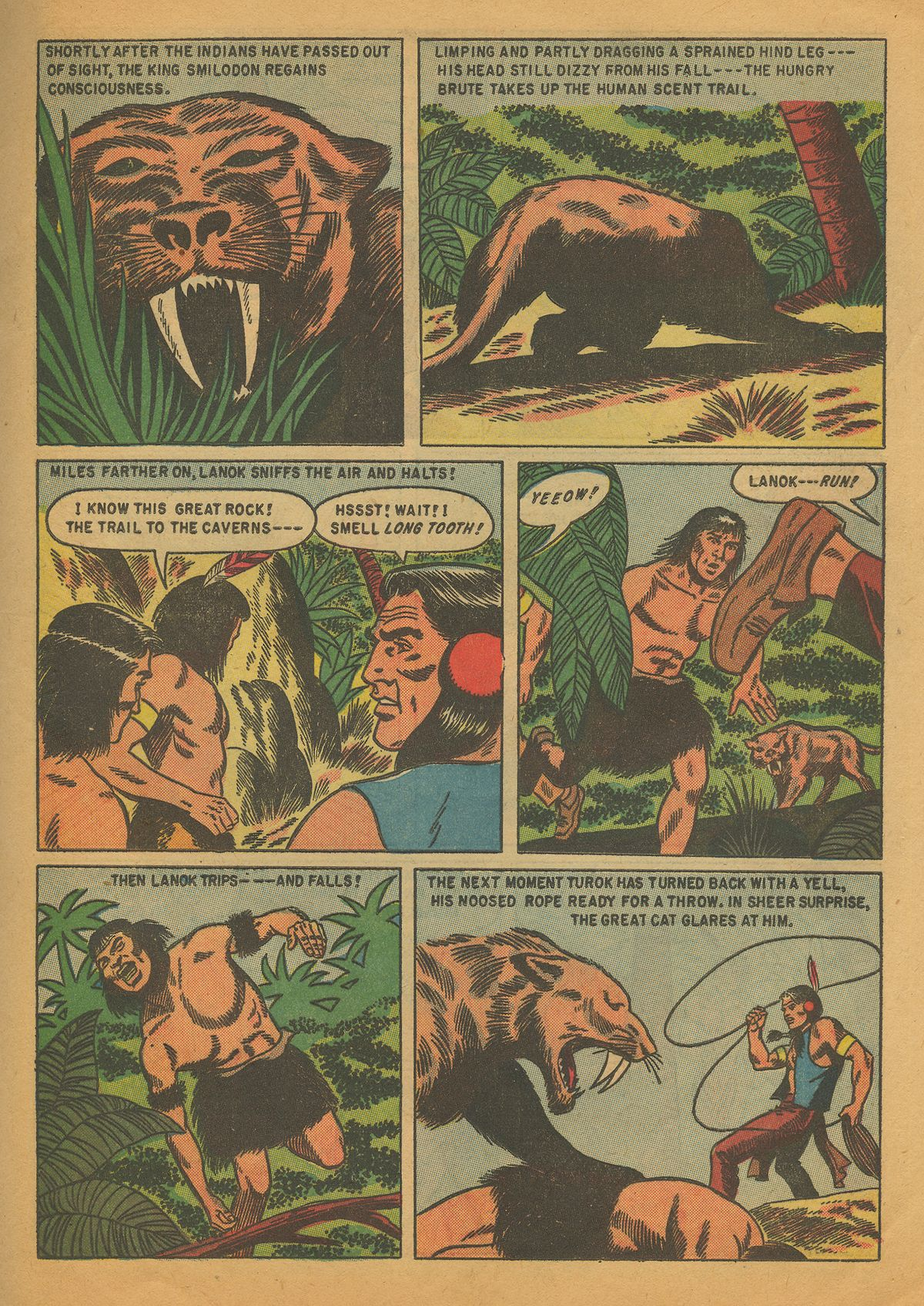 Read online Turok, Son of Stone comic -  Issue #4 - 25