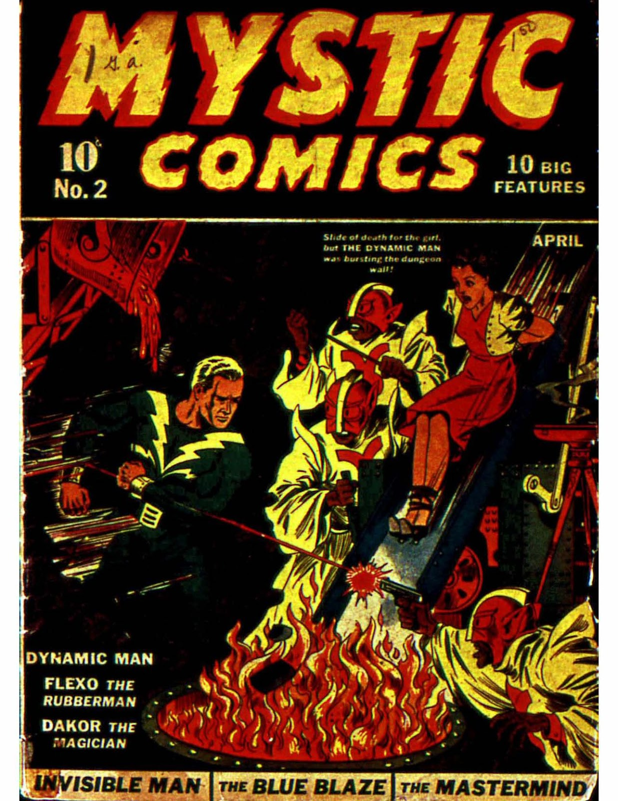 Mystic Comics (1940) issue 2 - Page 1