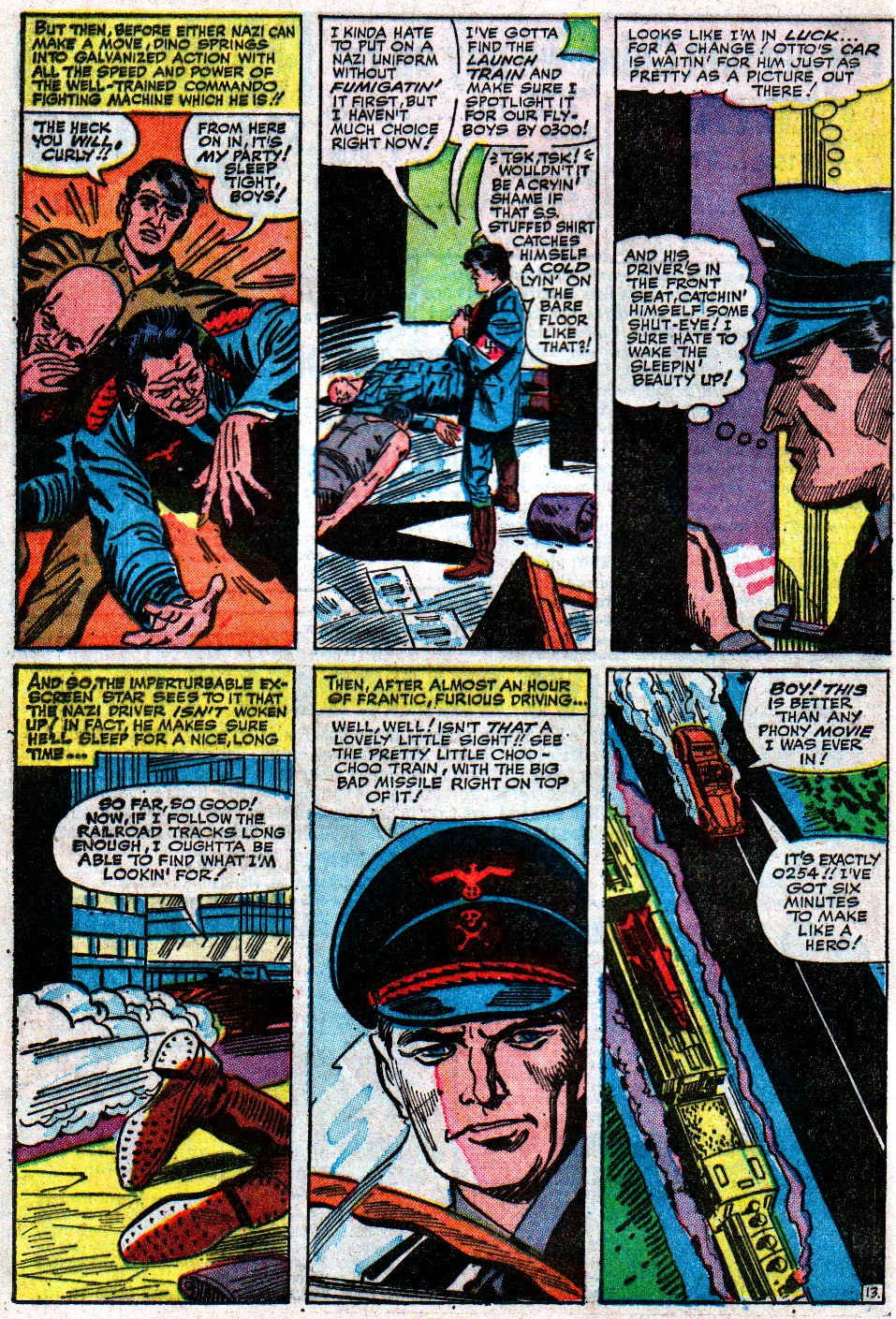 Read online Sgt. Fury comic -  Issue #12 - 20