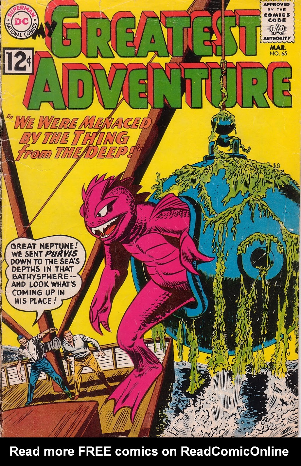 My Greatest Adventure (1955) issue 65 - Page 1