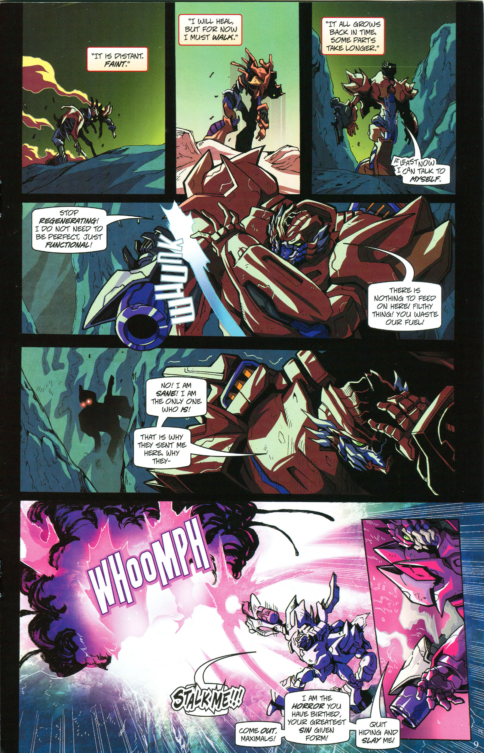 Read online Transformers: Collectors' Club comic -  Issue #56 - 9