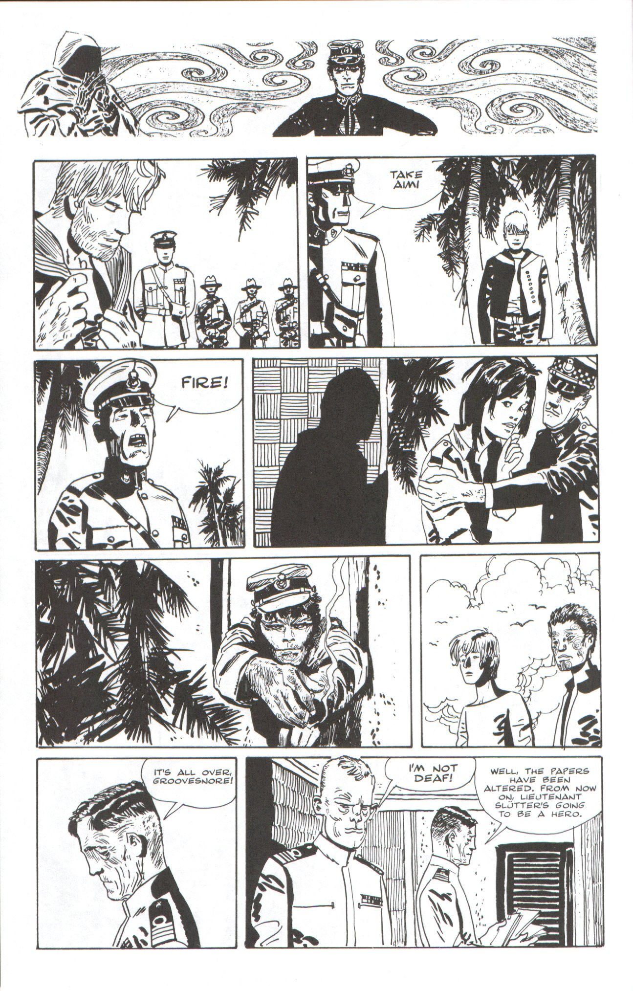 Read online Corto Maltese: Ballad of the Salt Sea comic -  Issue #7 - 12