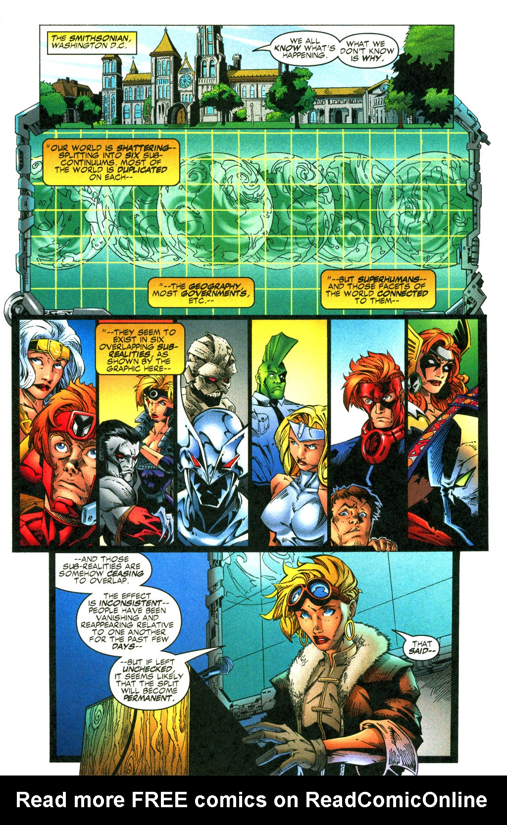 Read online Shattered Image comic -  Issue #2 - 2