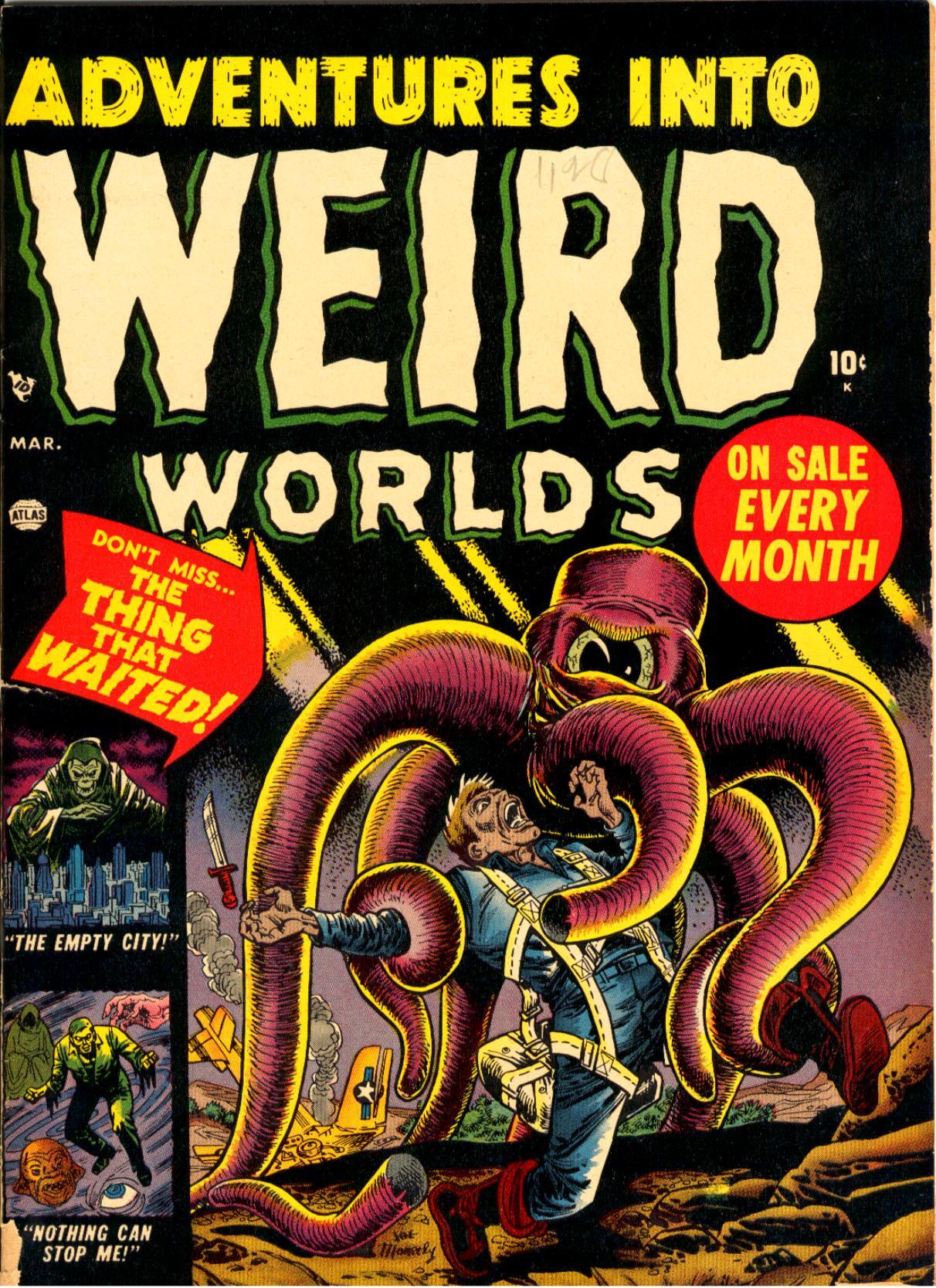 Read online Adventures into Weird Worlds comic -  Issue #3 - 1