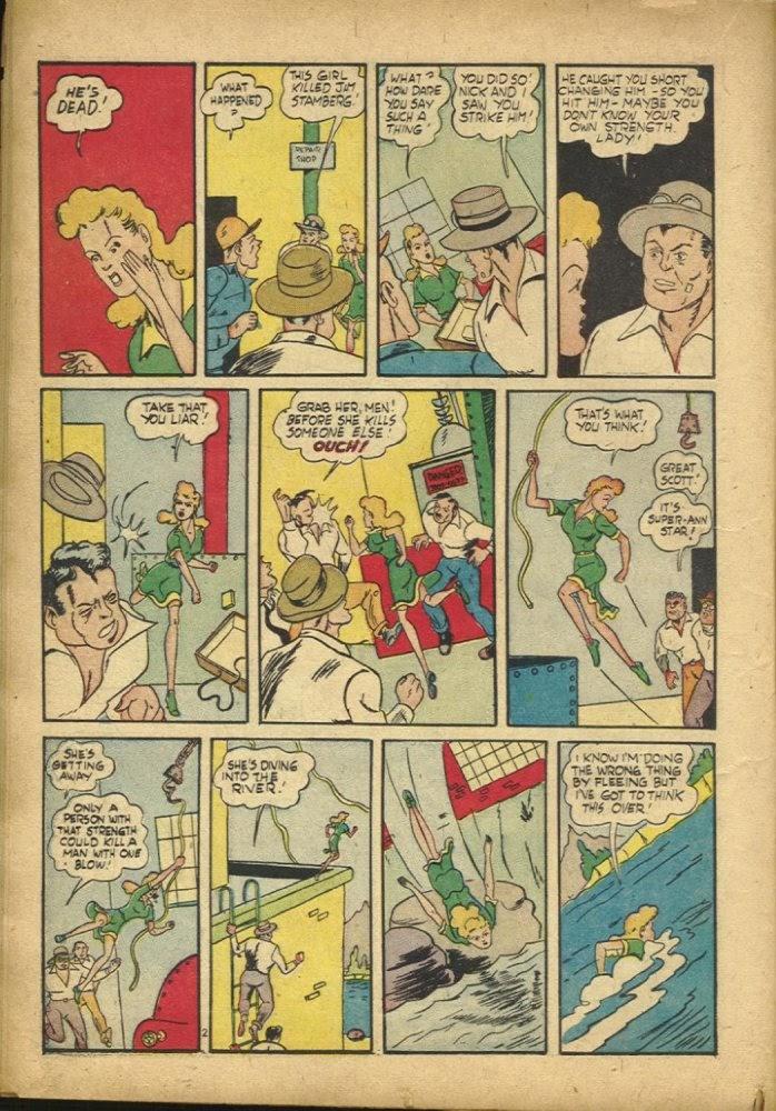 Read online Amazing Man Comics comic -  Issue #25 - 24