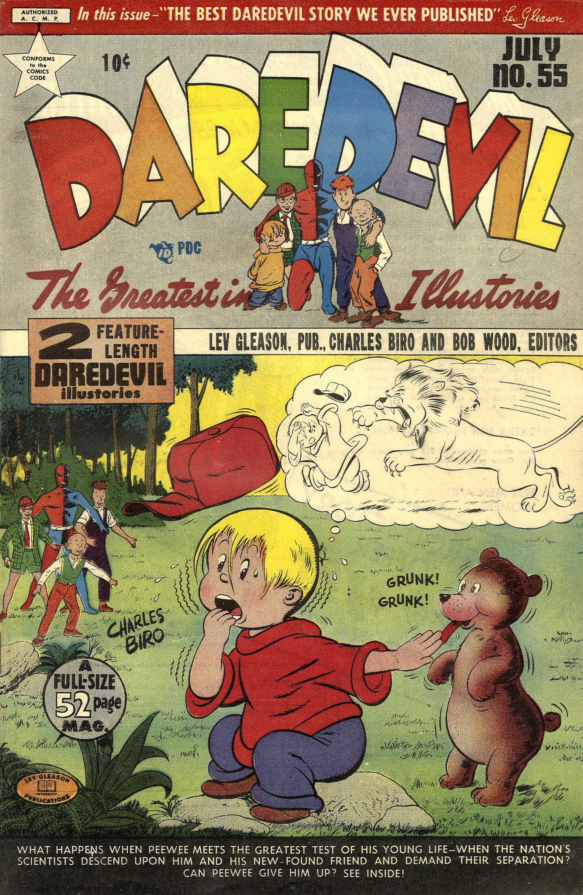 Daredevil (1941) 55 Page 1