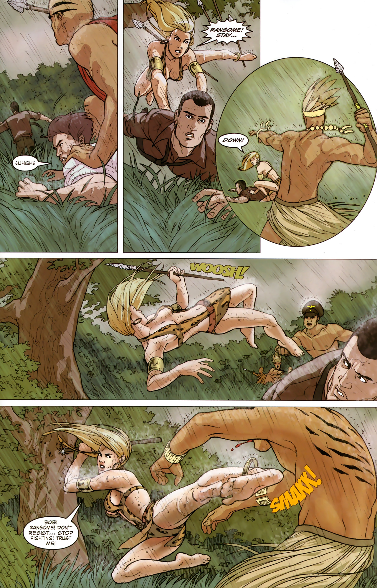 Read online Sheena Queen of the Jungle: Dark Rising comic -  Issue #2 - 13