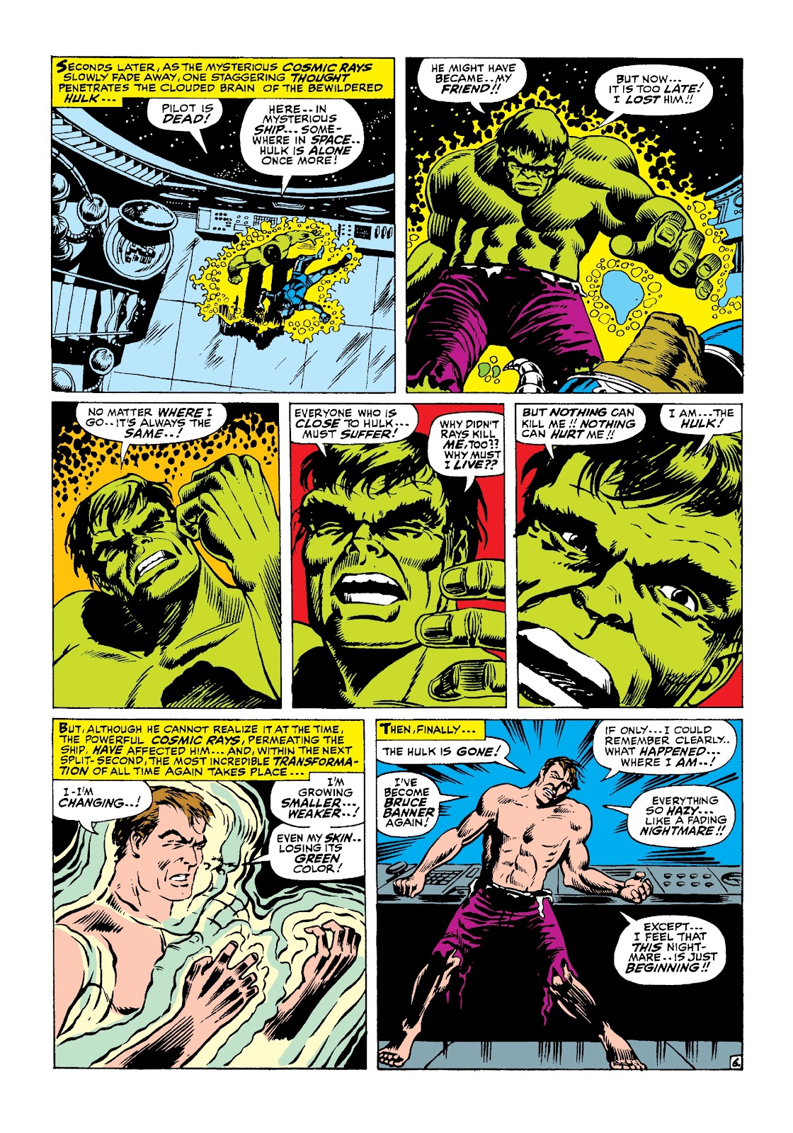 Read online Marvel Masterworks: The Incredible Hulk comic -  Issue # TPB 3 (Part 2) - 78
