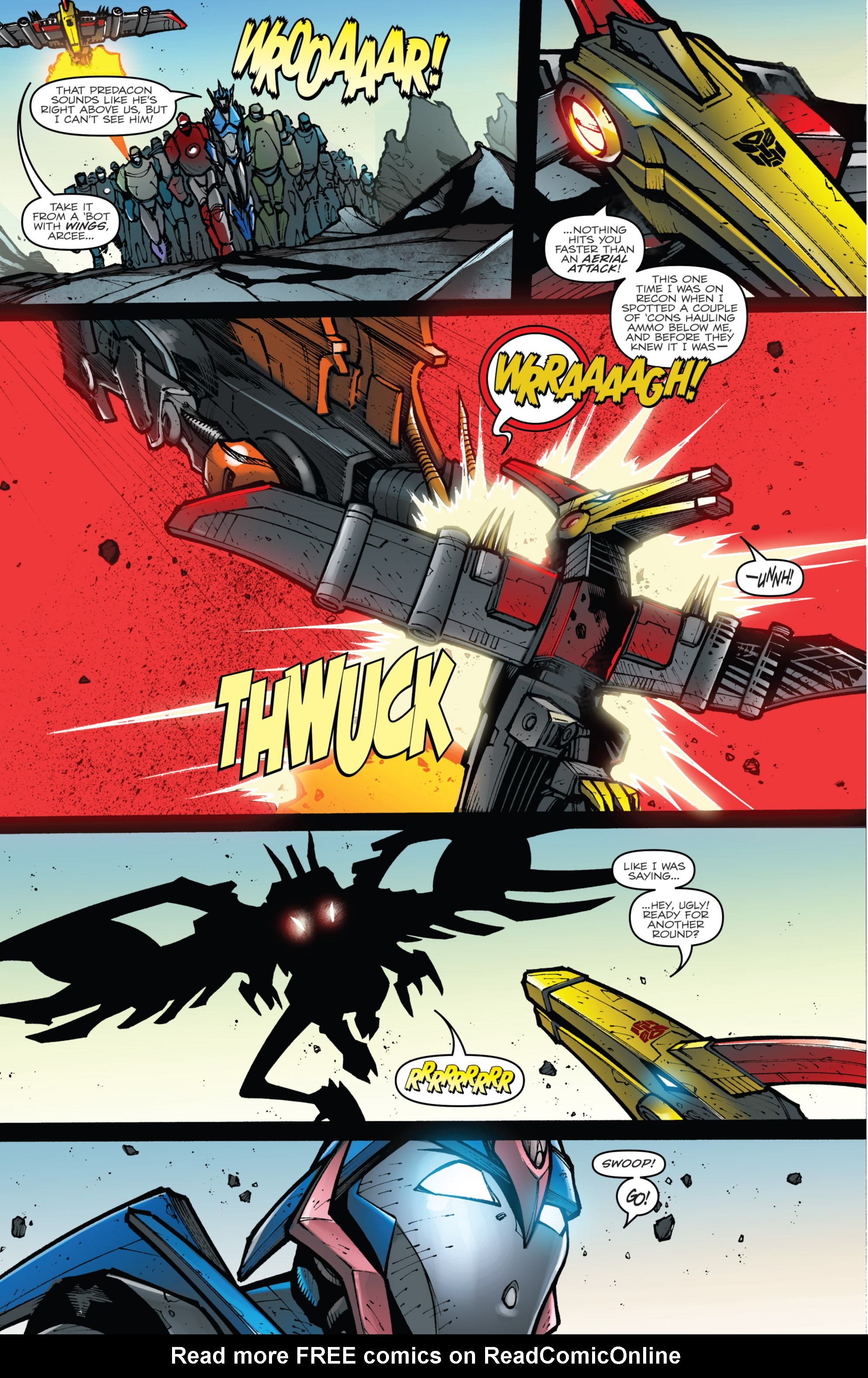Read online Transformers Prime: Beast Hunters comic -  Issue #8 - 13