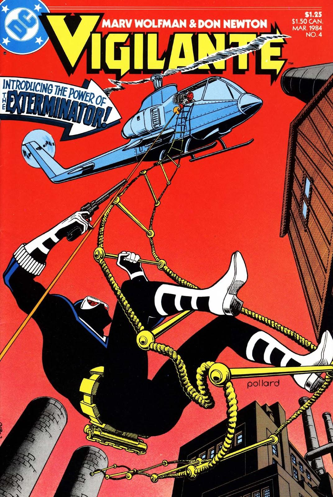 Vigilante (1983) issue 4 - Page 1