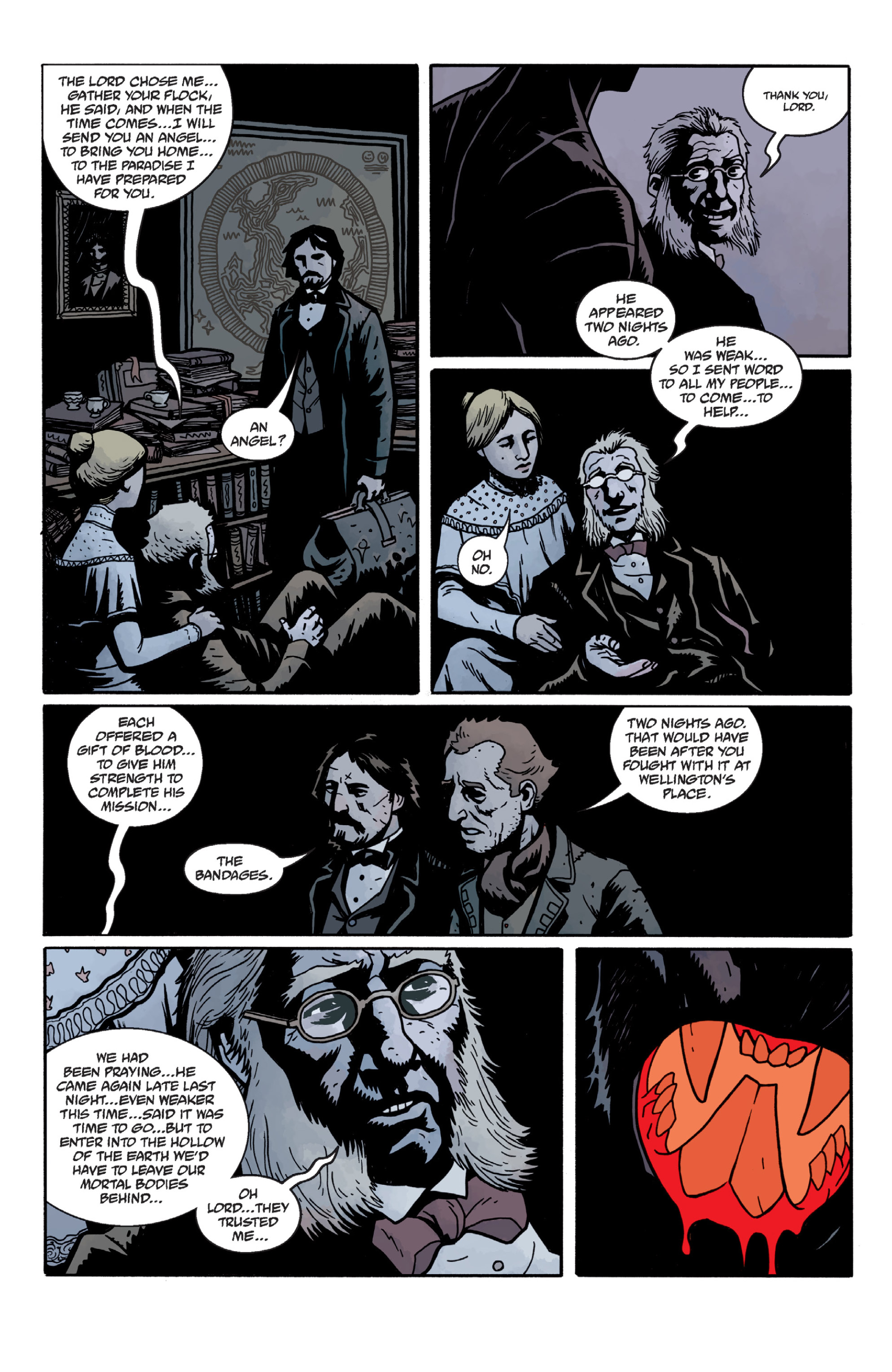 Read online Sir Edward Grey, Witchfinder: In the Service of Angels comic -  Issue # TPB - 72
