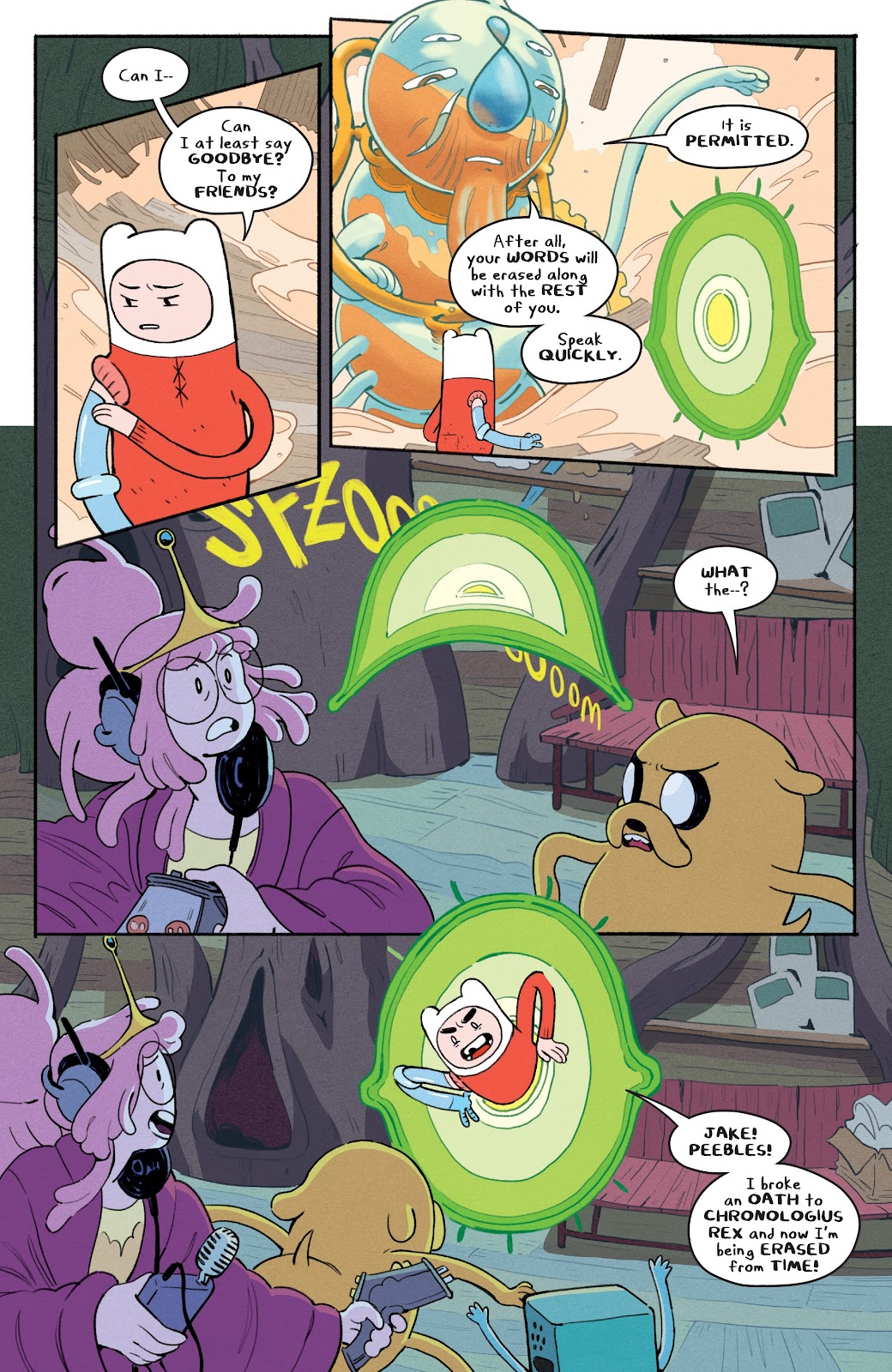 Read online Adventure Time: Beginning of the End comic -  Issue # _TPB - 25