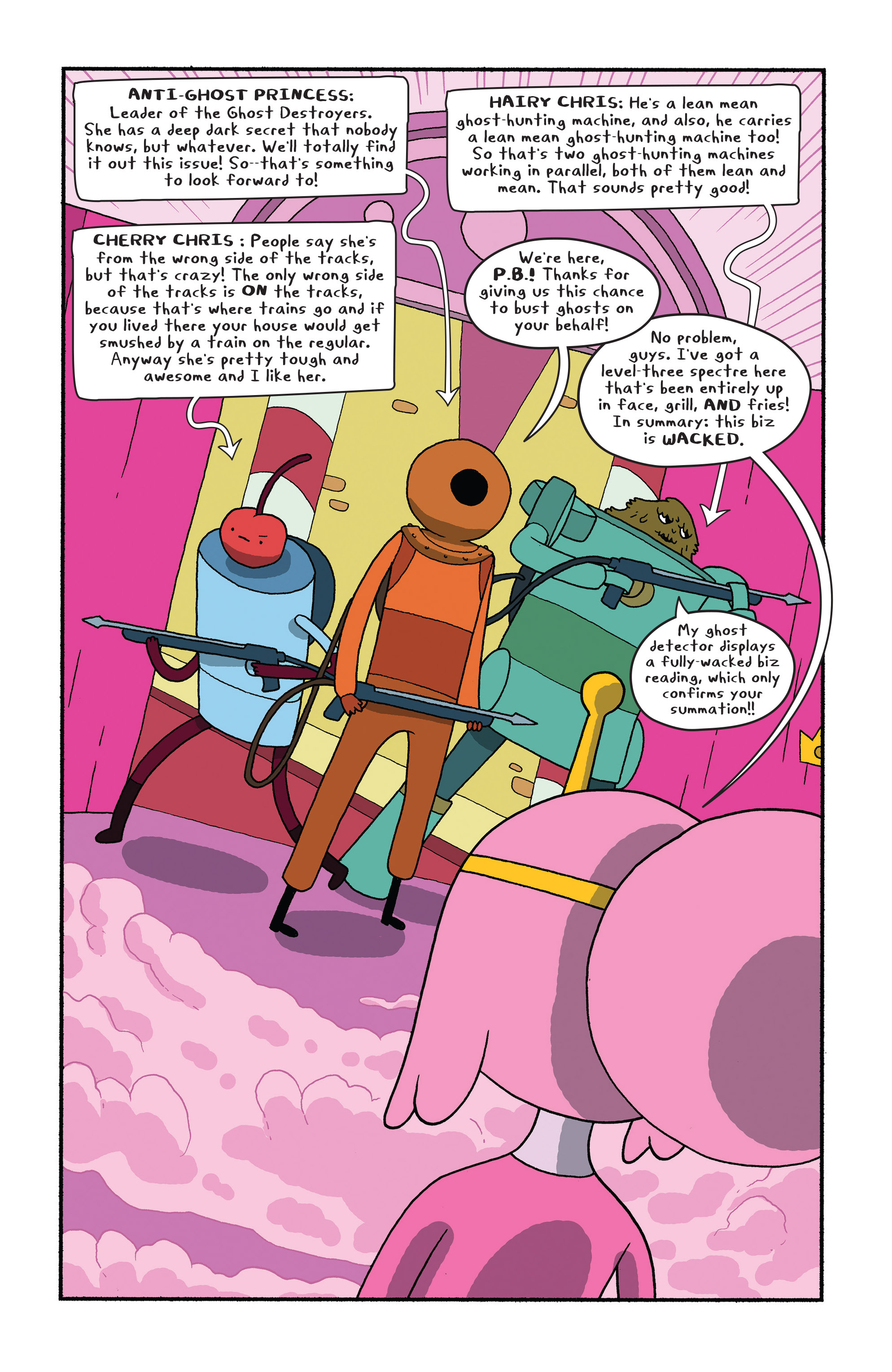 Read online Adventure Time comic -  Issue #28 - 4