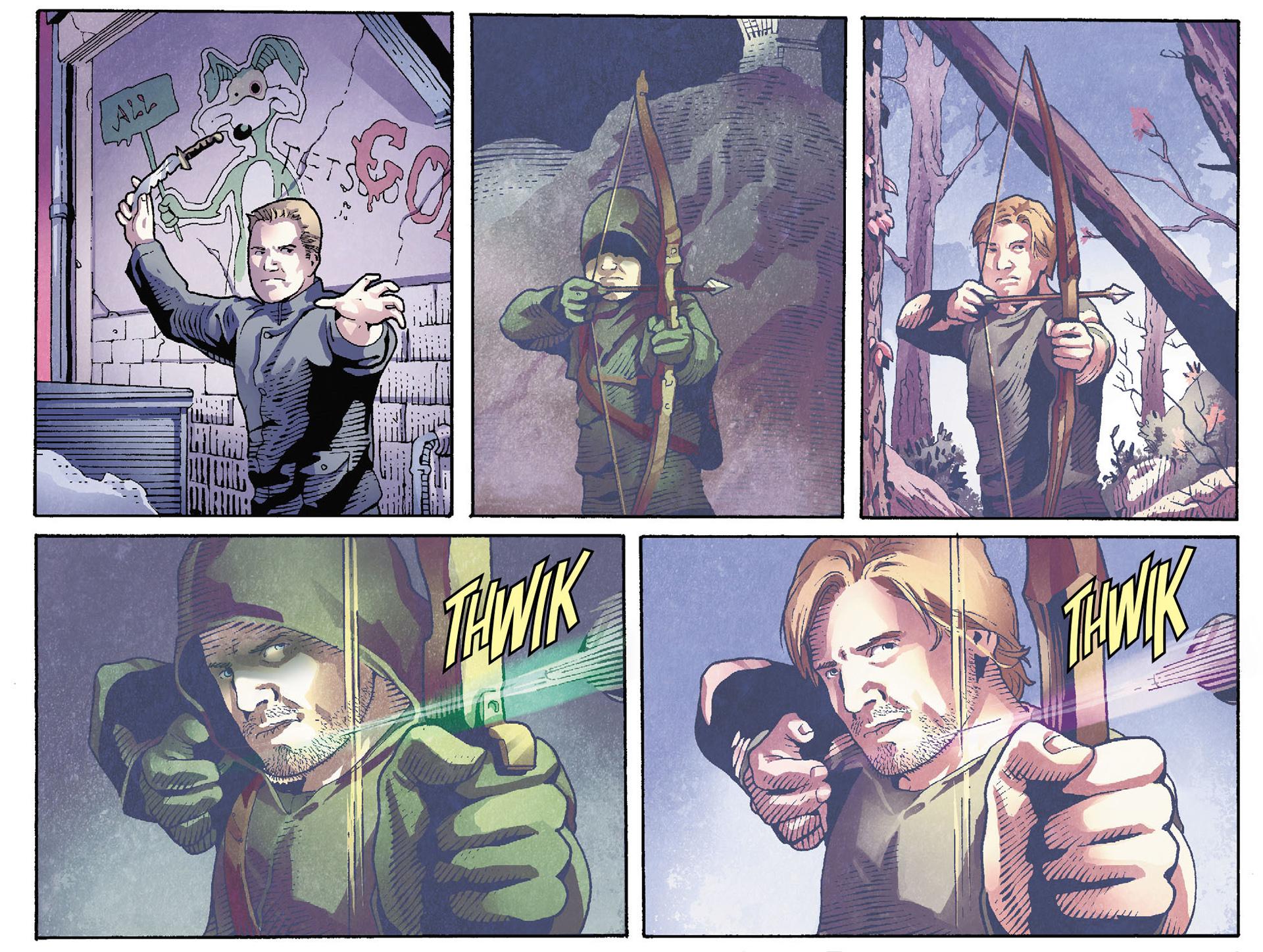 Read online Arrow [II] comic -  Issue #35 - 13