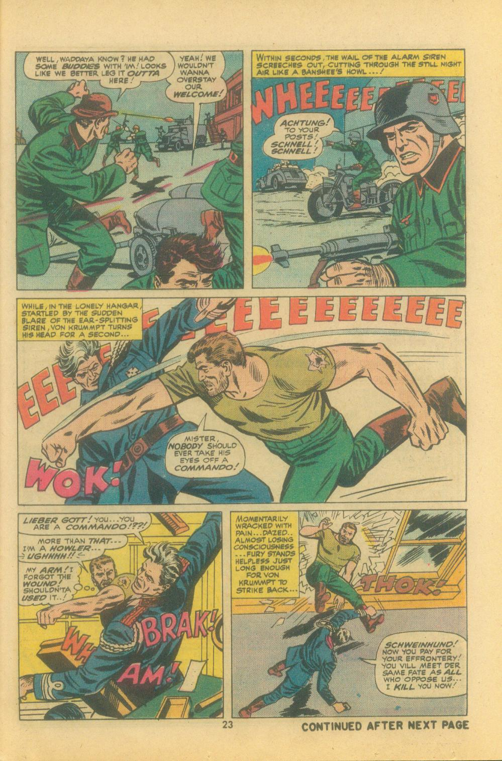 Read online Sgt. Fury comic -  Issue #121 - 25
