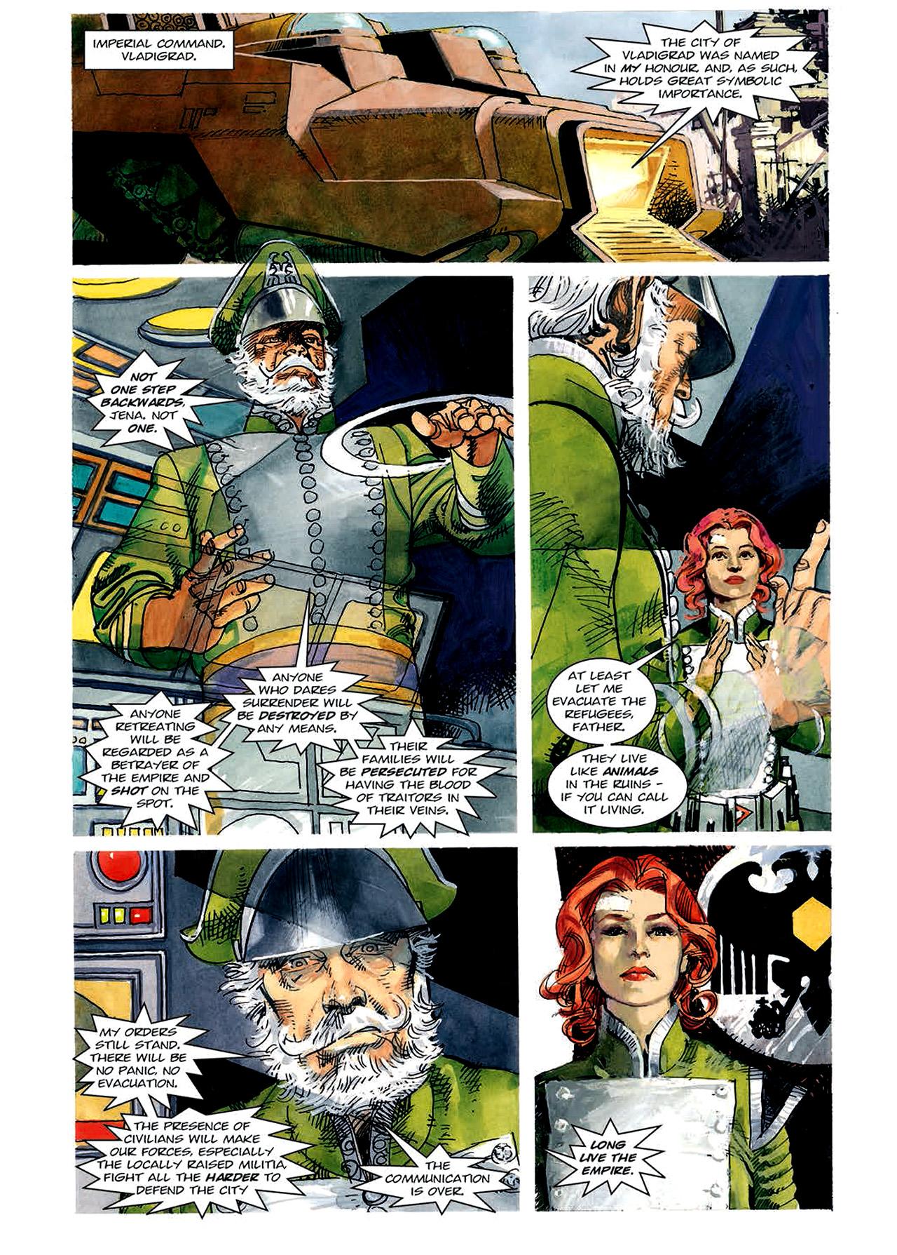 Read online Nikolai Dante comic -  Issue # TPB 4 - 85