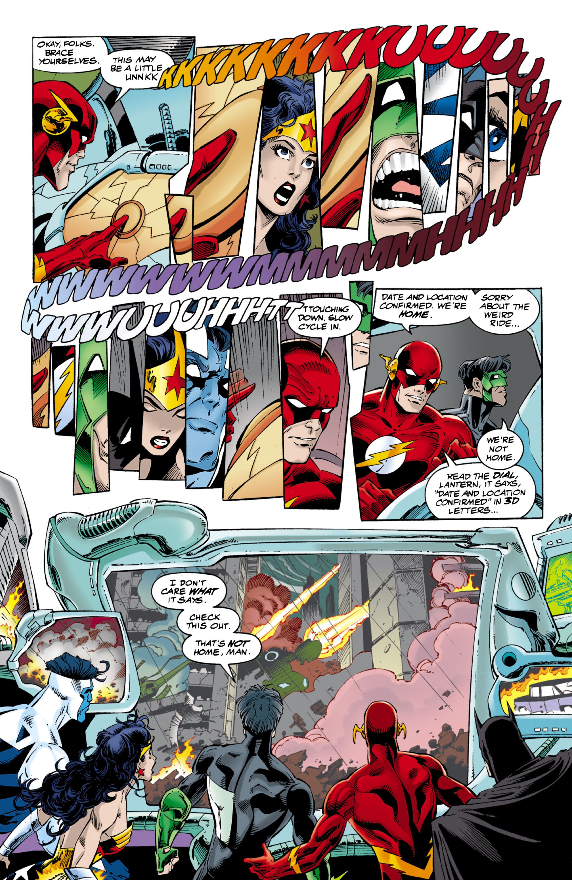 Read online JLA/WildC.A.T.s comic -  Issue # Full - 15