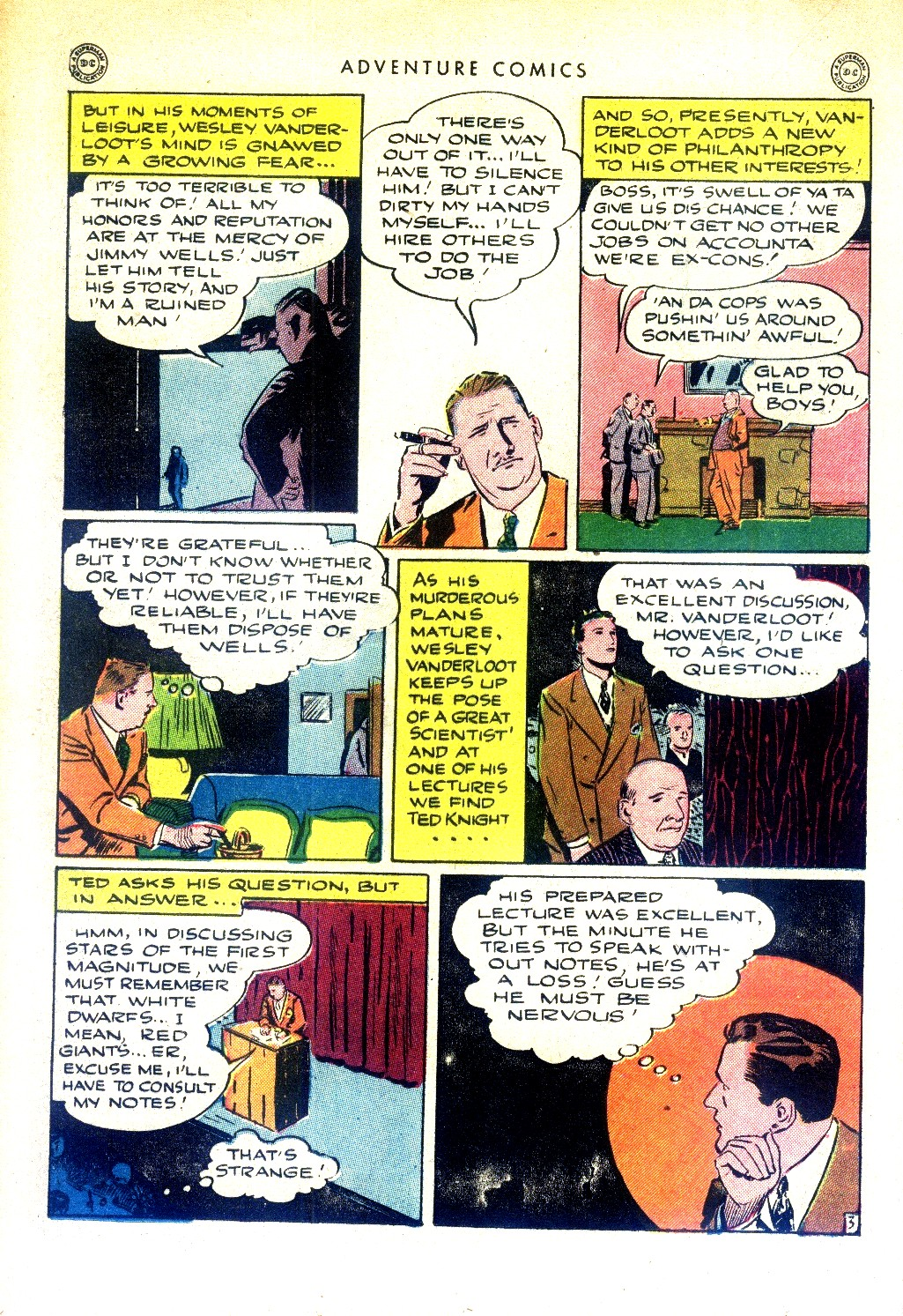Read online Adventure Comics (1938) comic -  Issue #97 - 34