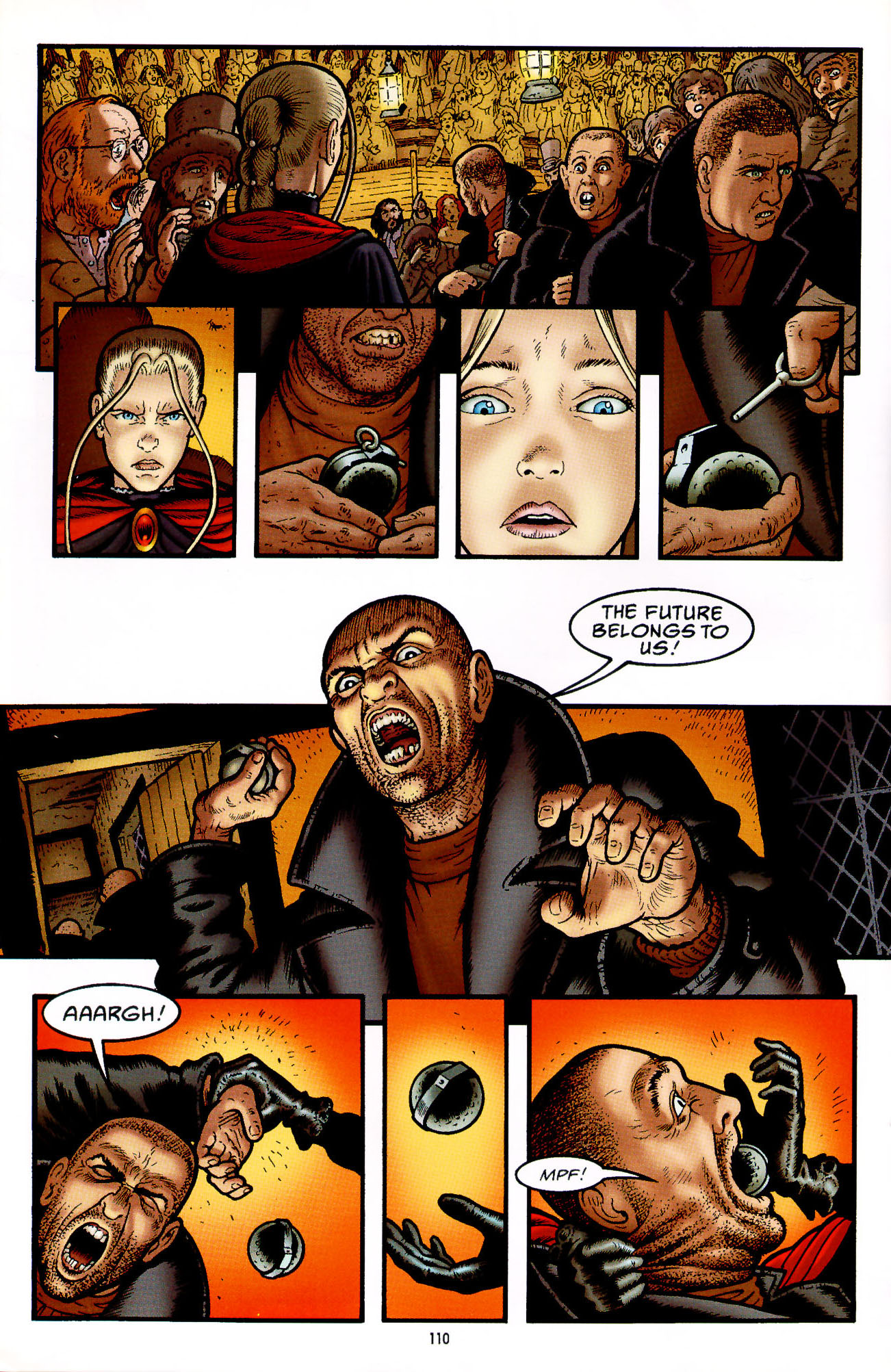 Read online Heart of Empire comic -  Issue #4 - 14